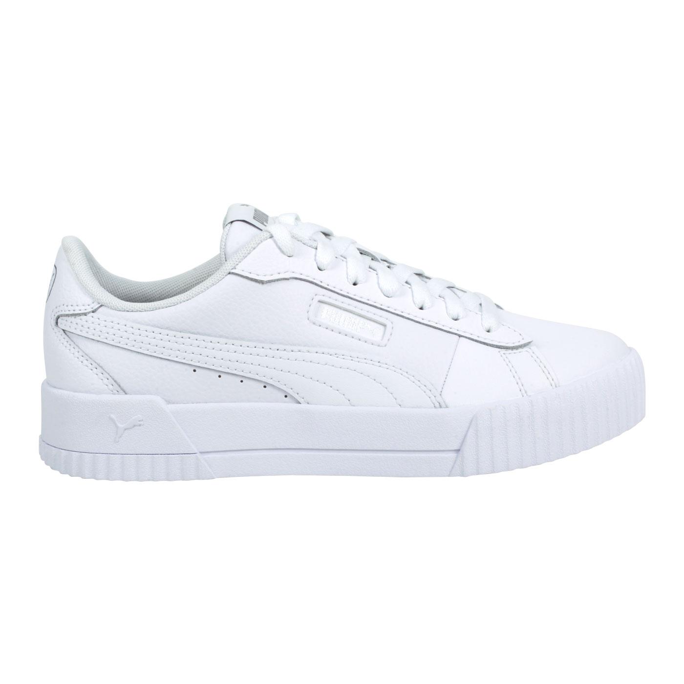 PUMA 女款休閒運動鞋  @Carine Crew@37490302 - 白