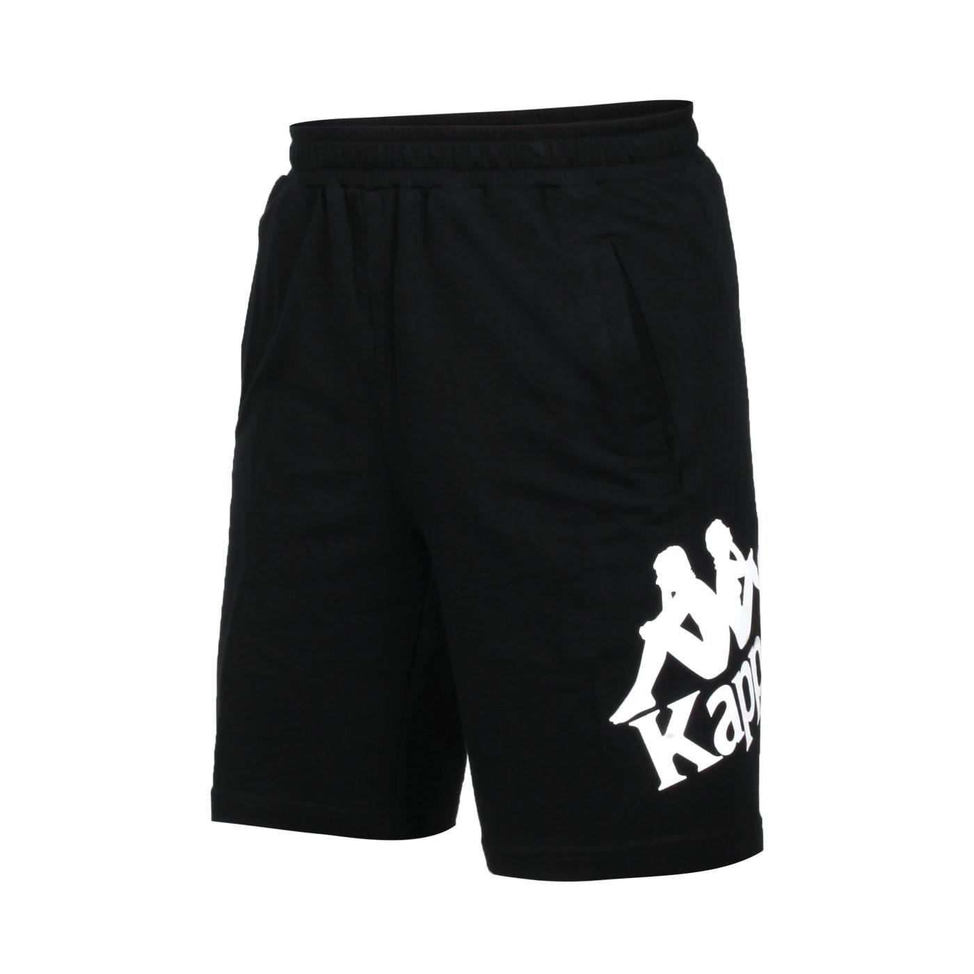 KAPPA 男款針織短褲 381772W-005 - 黑白