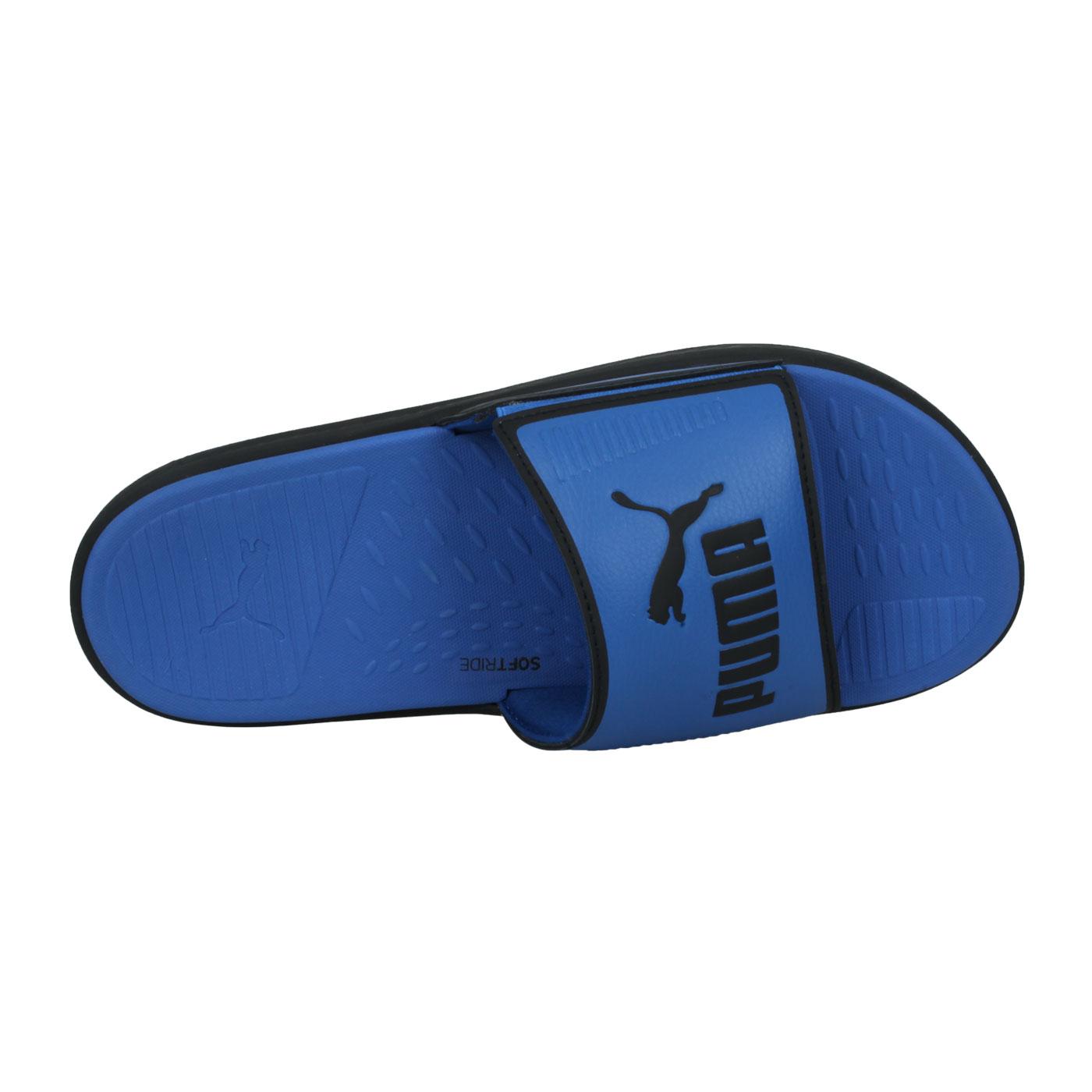 PUMA 男款運動拖鞋  @Soffride Slide@38211106 - 藍黑