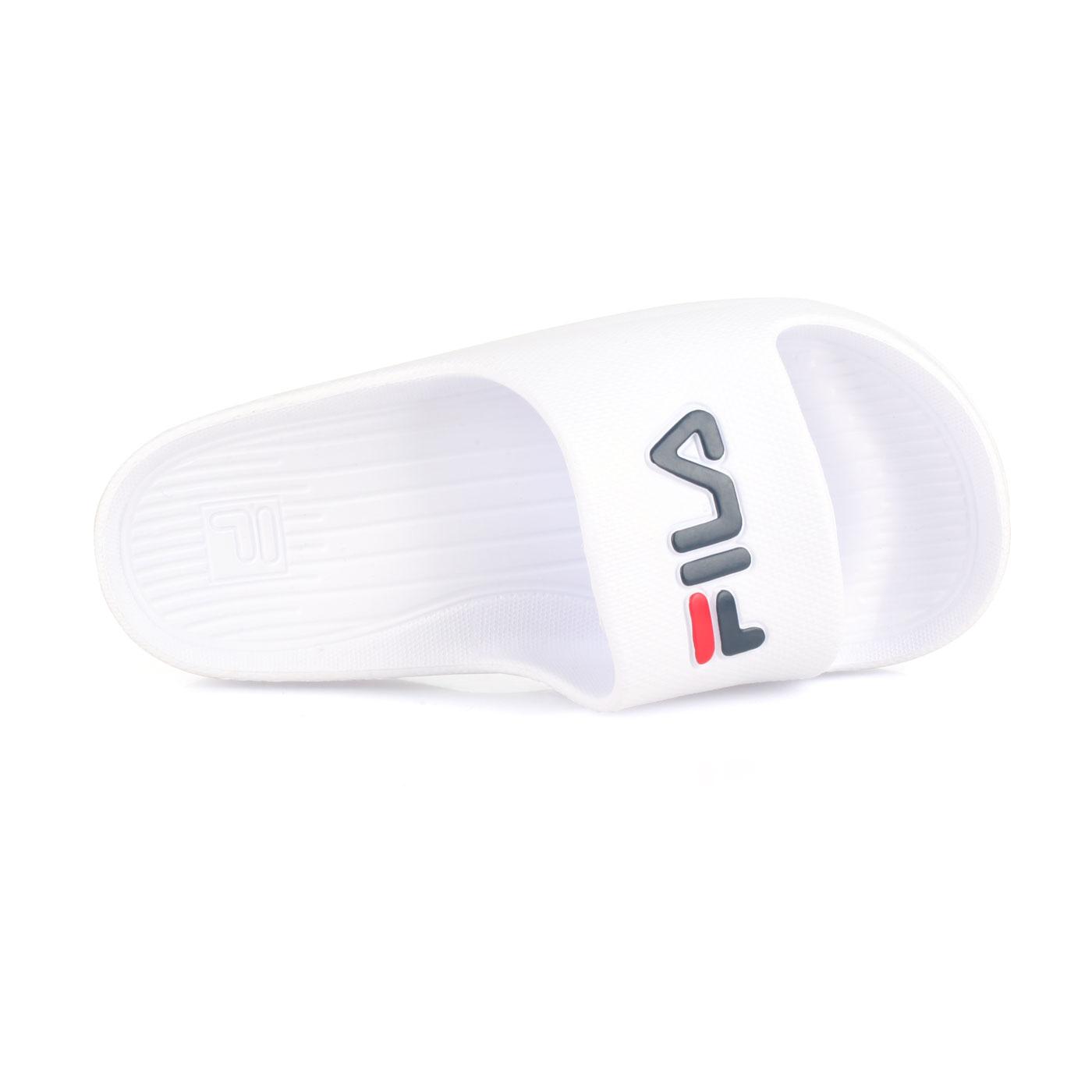 FILA 運動拖鞋 4-S355Q-113 - 白丈青紅
