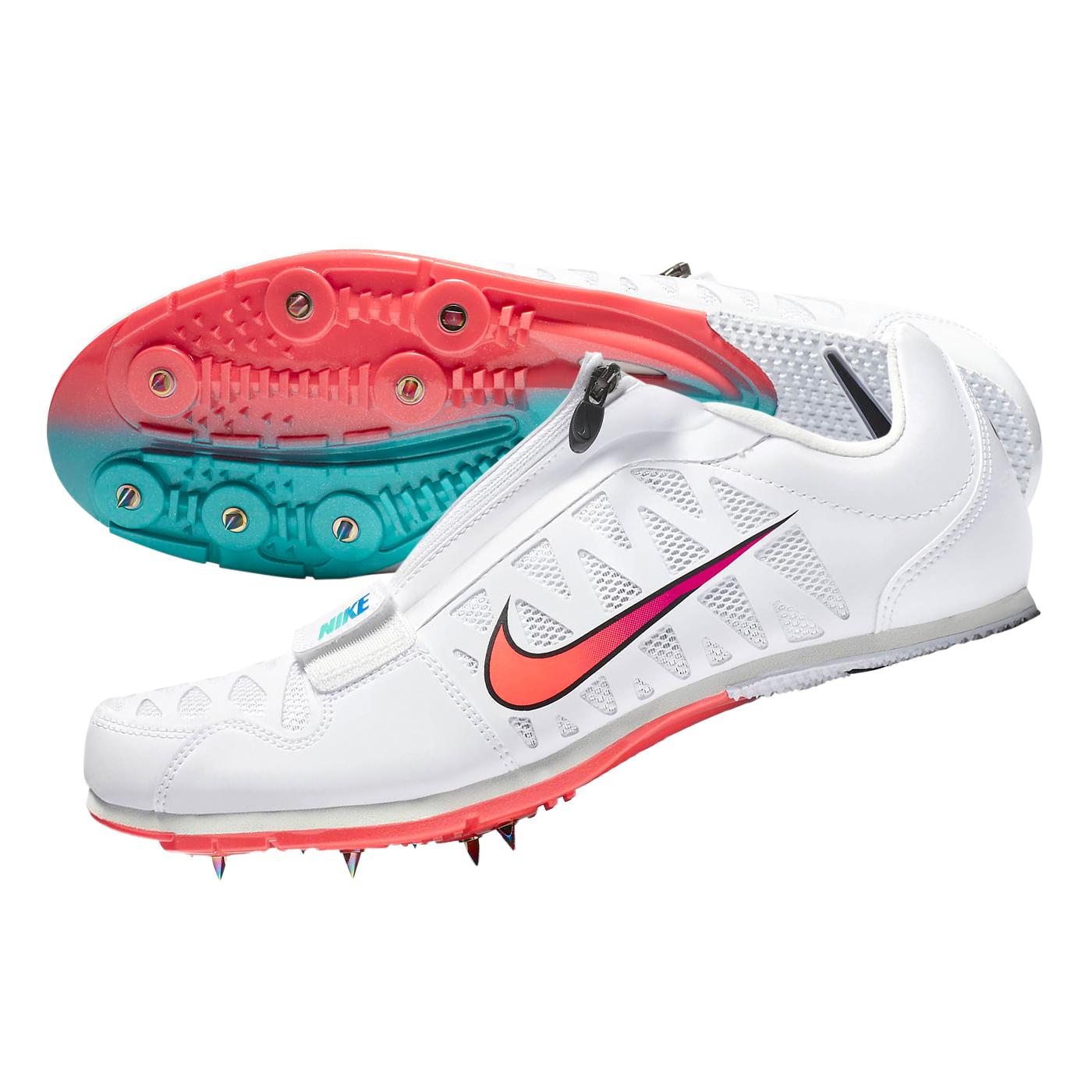 NIKE 田徑跳遠鞋  @ZOOM LJ 4@415339101 - 白粉紫綠藍