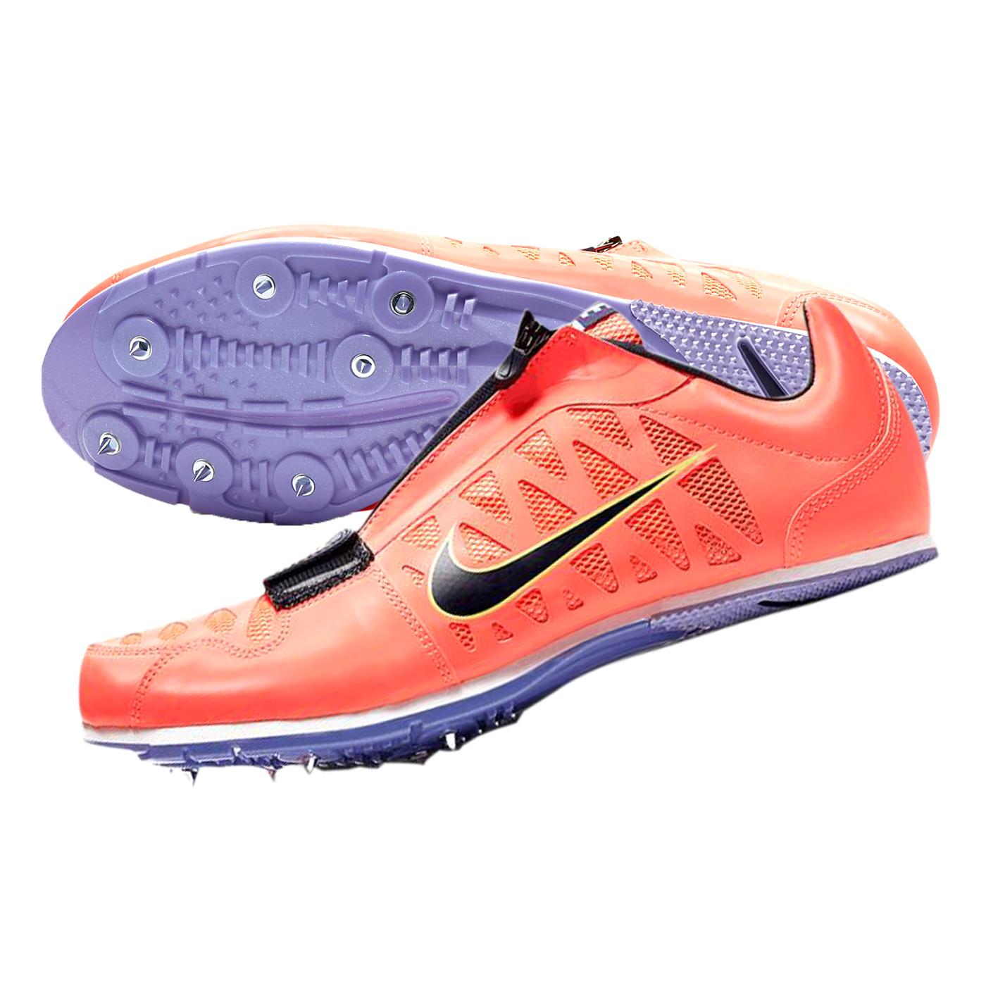 NIKE 田徑跳遠鞋  @ZOOM LJ 4@415339800 - 亮橘黑綠紫