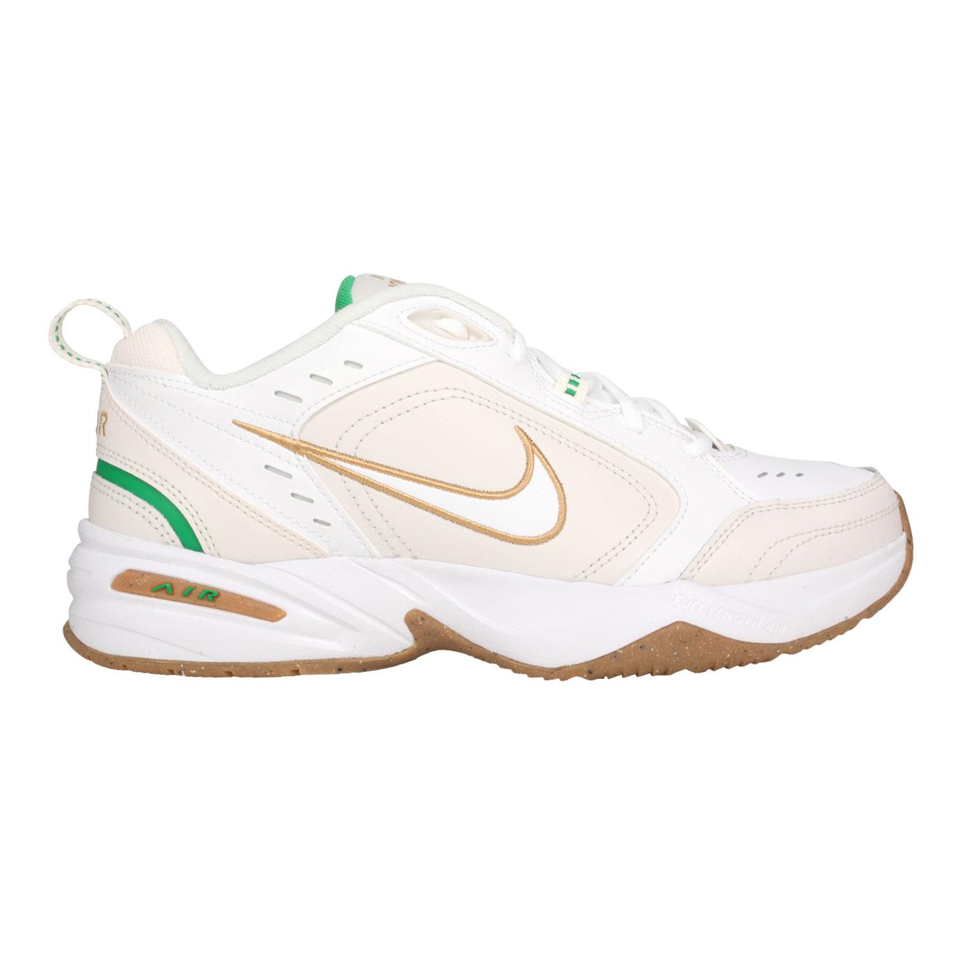 NIKE 男款休閒運動鞋 415445103 - 白米白棕綠
