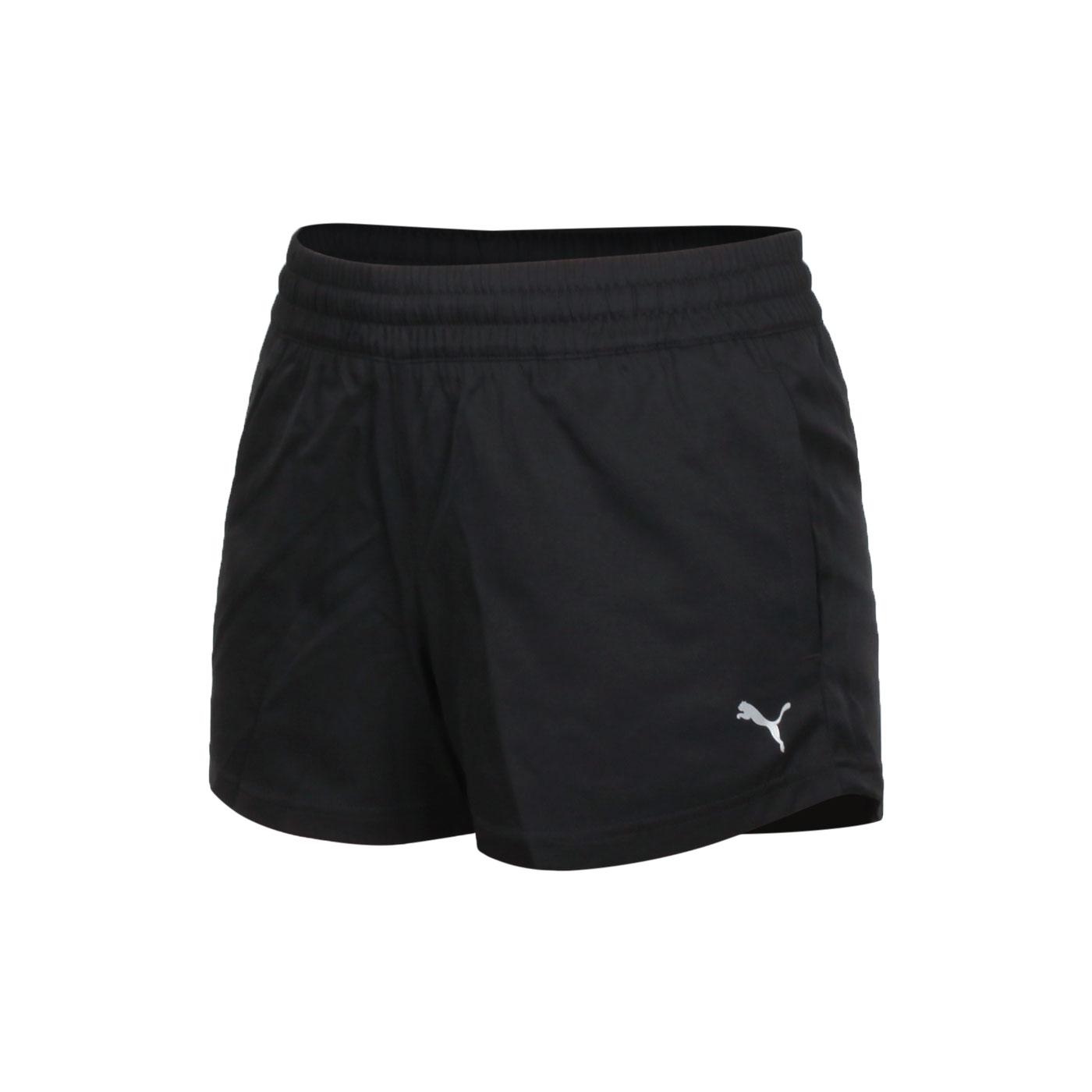 PUMA 訓練系列ESS女款3吋短風褲 52031201 - 黑白