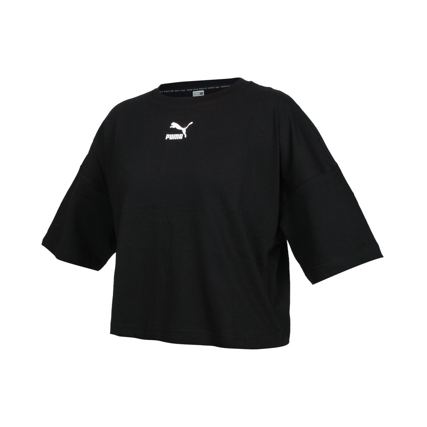 PUMA 女款短袖T恤 53169601 - 黑白
