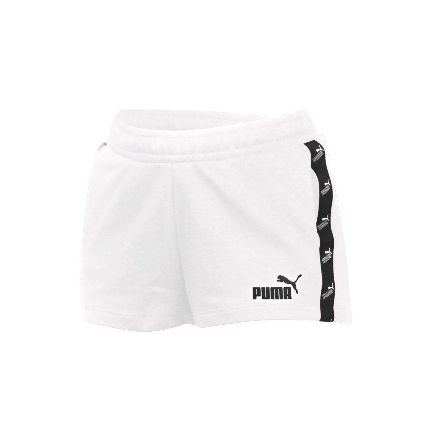 PUMA 女款基本系列2吋短褲 58530301 - 白黑