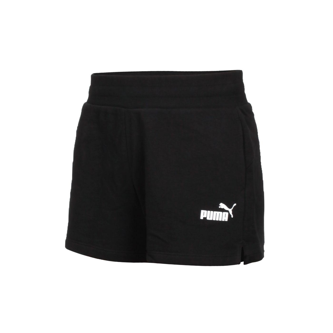 PUMA 基本系列Ess女款4吋短褲 58682401 - 黑白