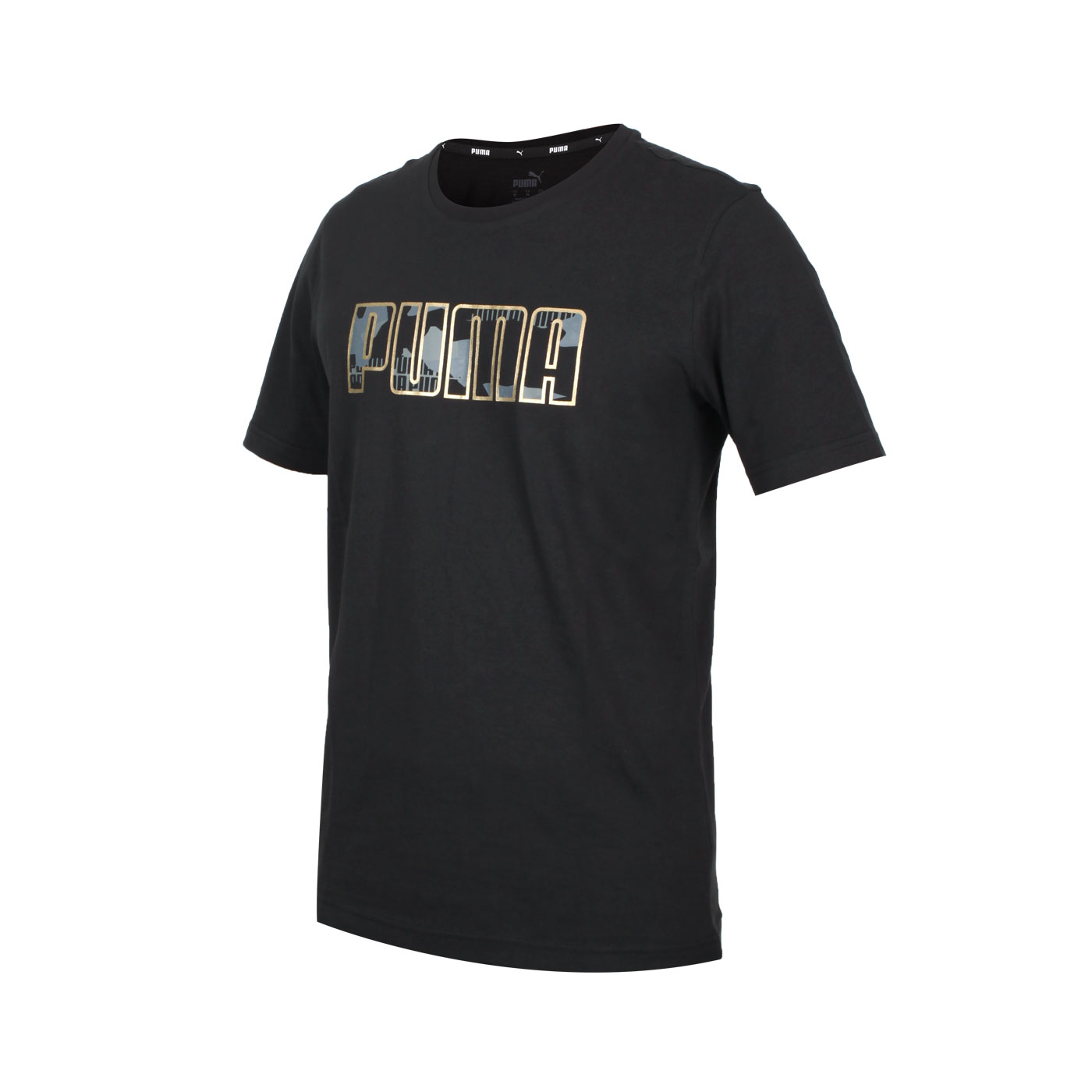 PUMA 男款基本系列短袖T恤 58714401 - 黑金