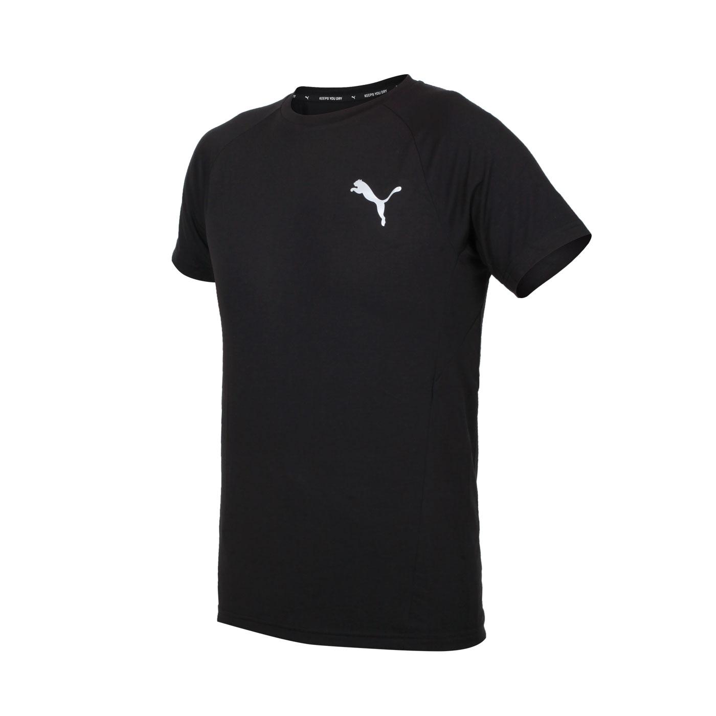 PUMA 男款短袖T恤 58941701 - 黑銀