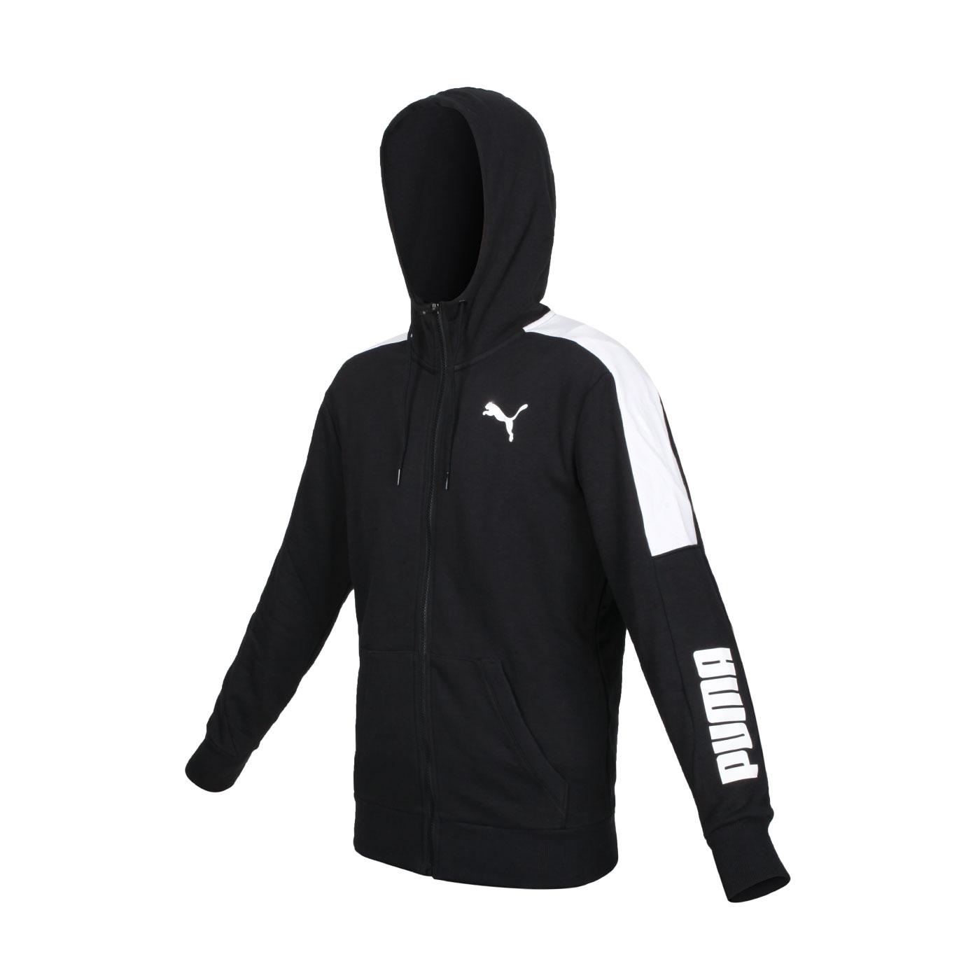 PUMA 男款基本系列Modren Sports連帽外套 58948001 - 黑白