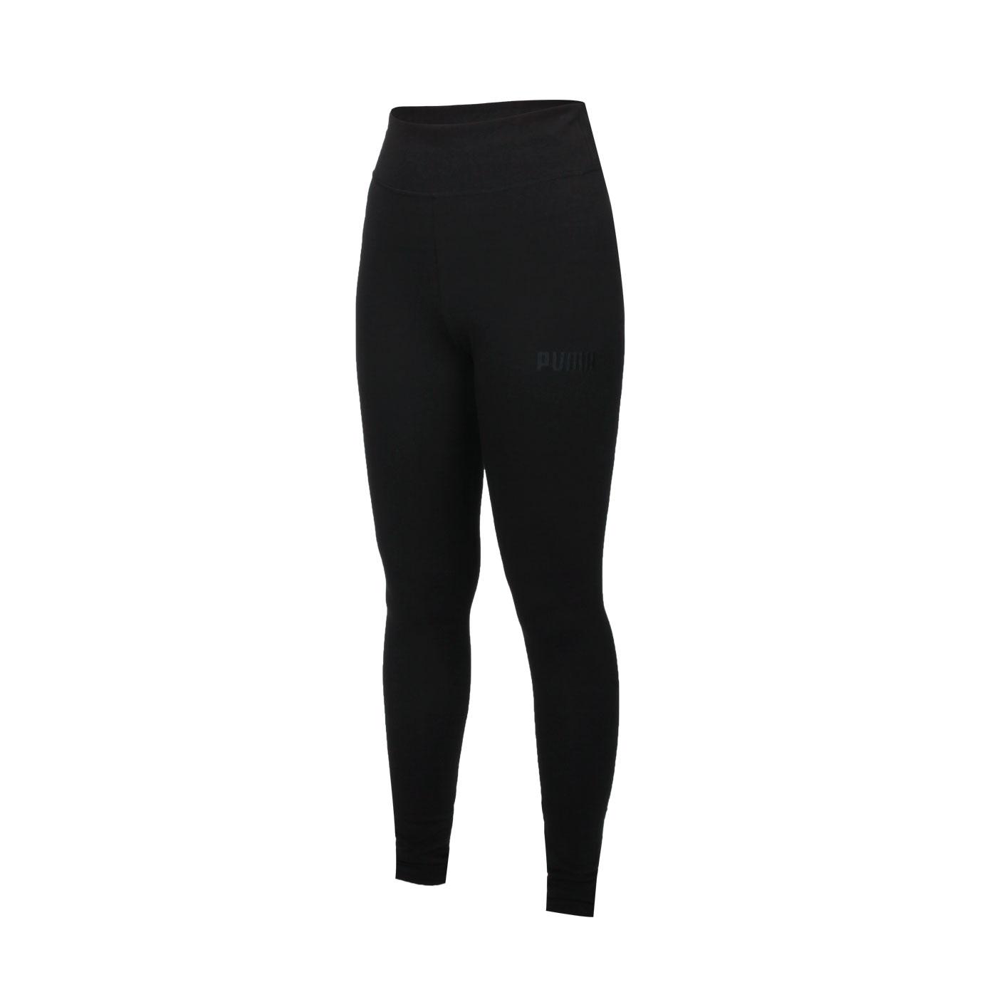 PUMA 女款基本系列HER緊身長褲 58952301 - 黑