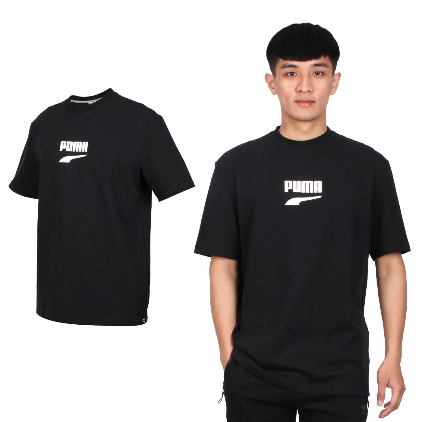 PUMA 男款流行系列短袖T恤 59636701 - 黑白