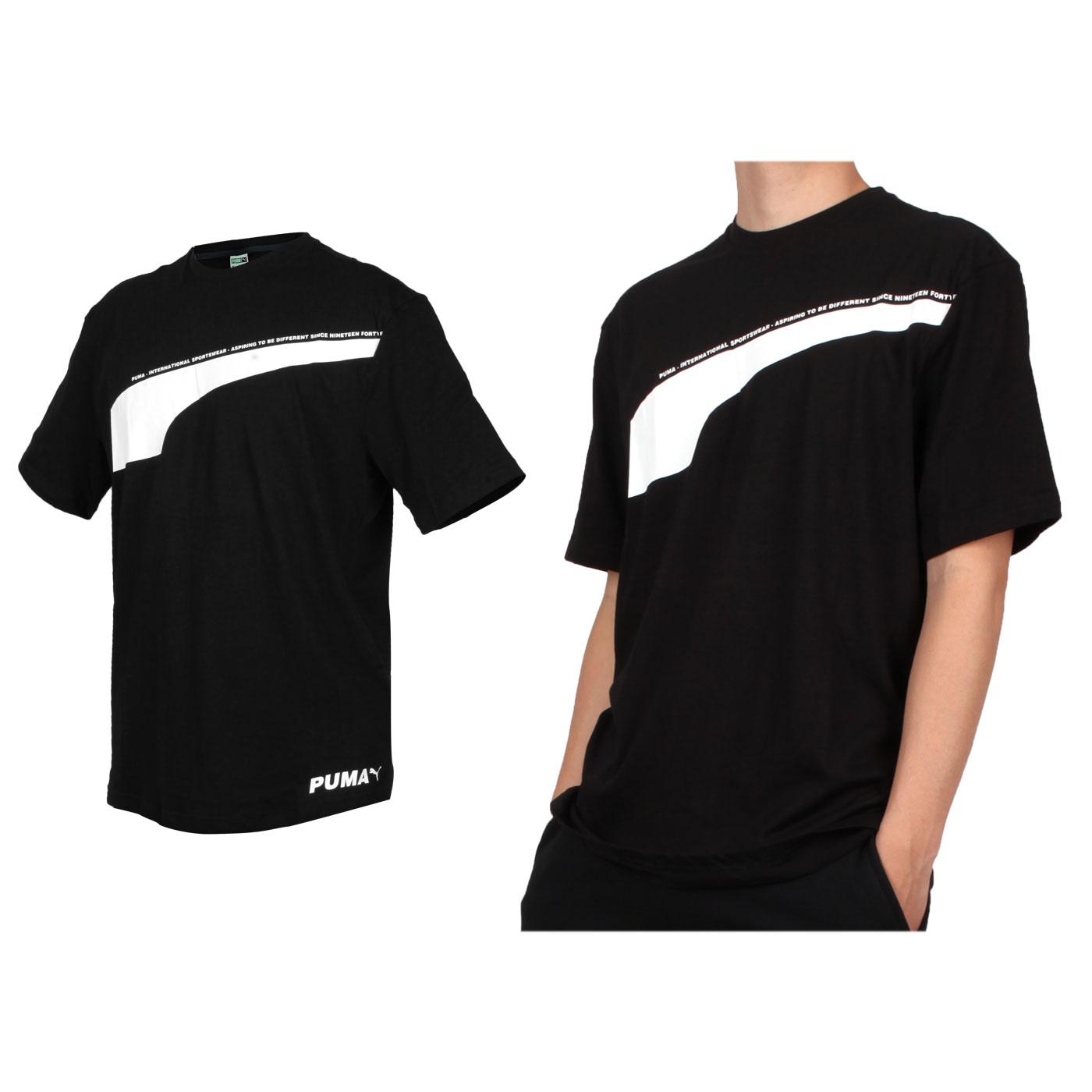 PUMA 男款流行系列Avenir短袖T恤 59645701 - 黑白