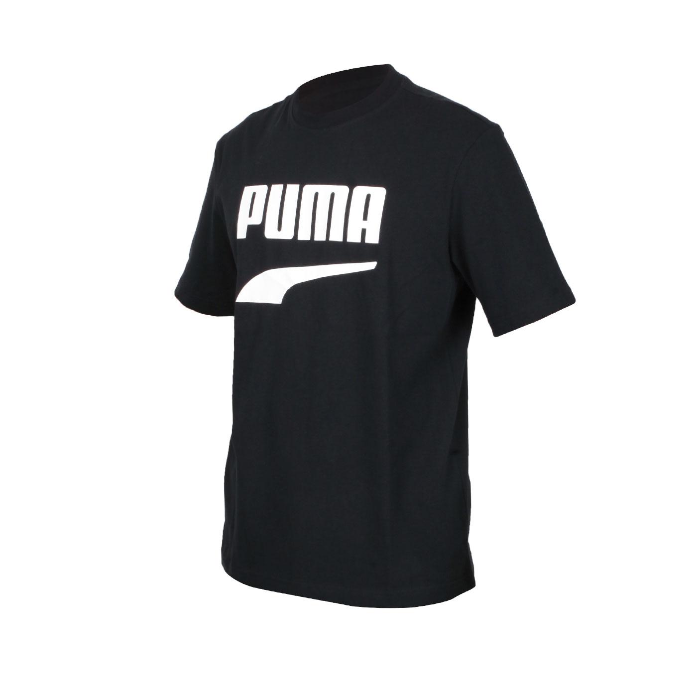 PUMA 男款流行系列短袖T恤 59762601 - 黑白