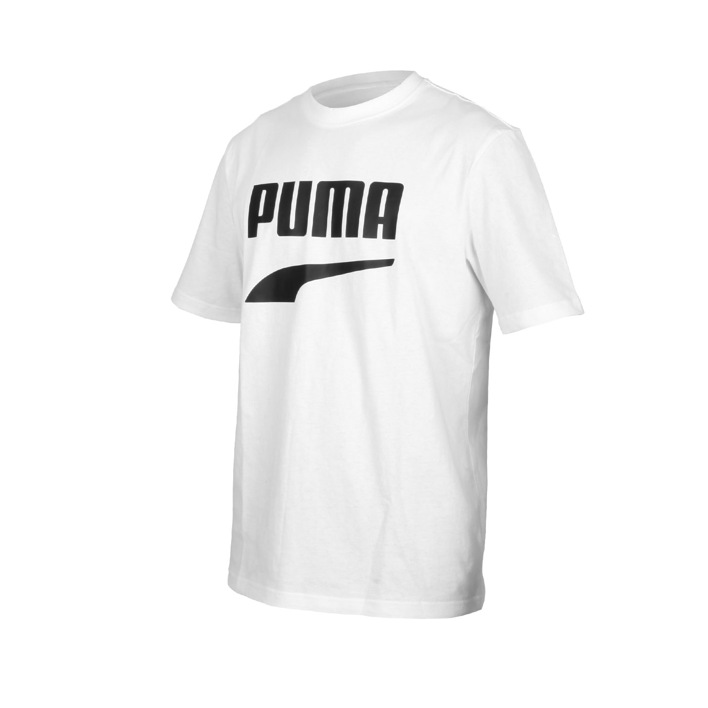 PUMA 男款流行系列短袖T恤 59762601 - 白黑