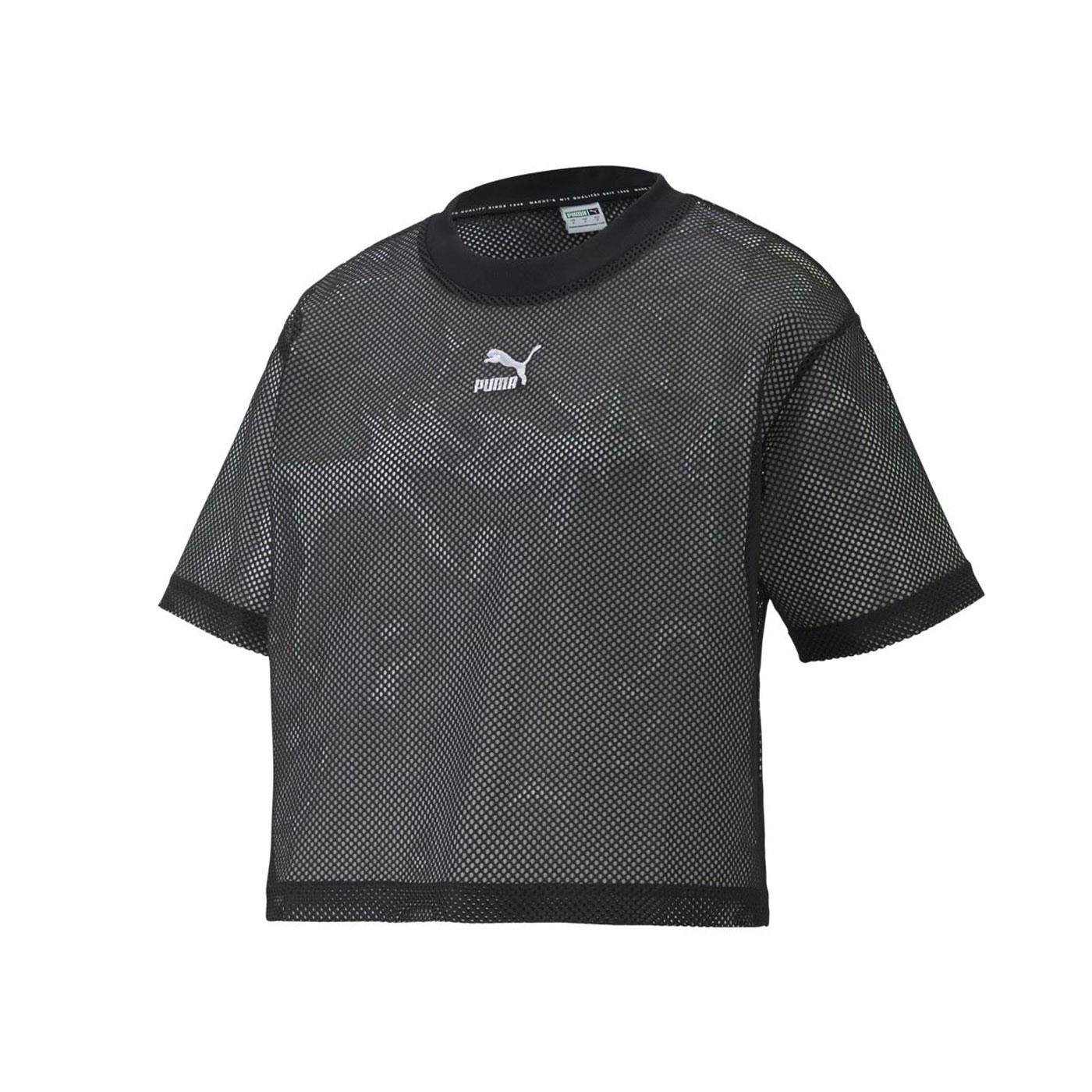 PUMA 女款流行系列Classics短袖T恤 59861601 - 黑白