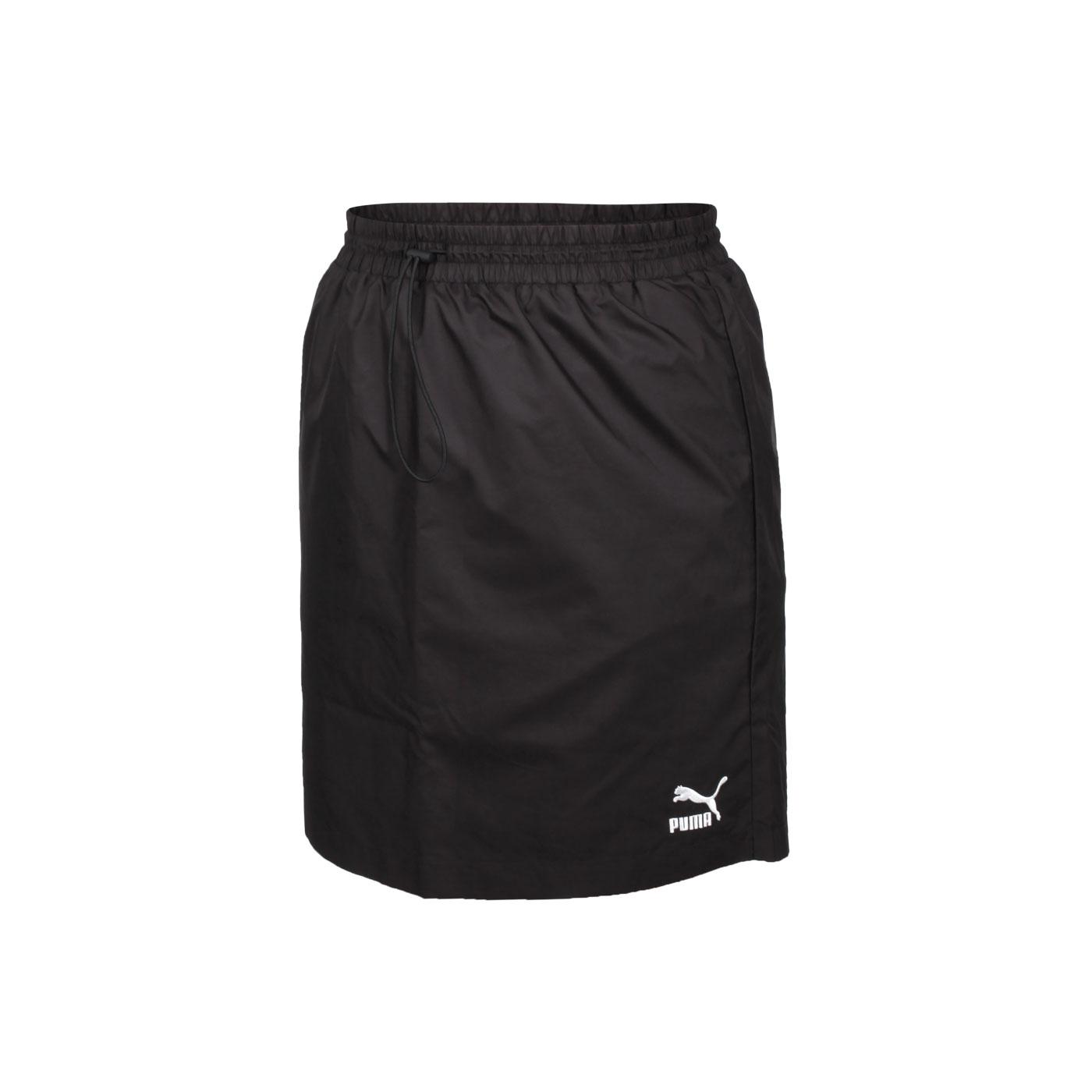 PUMA 女款流行系列Classics短風裙 59861701 - 黑白