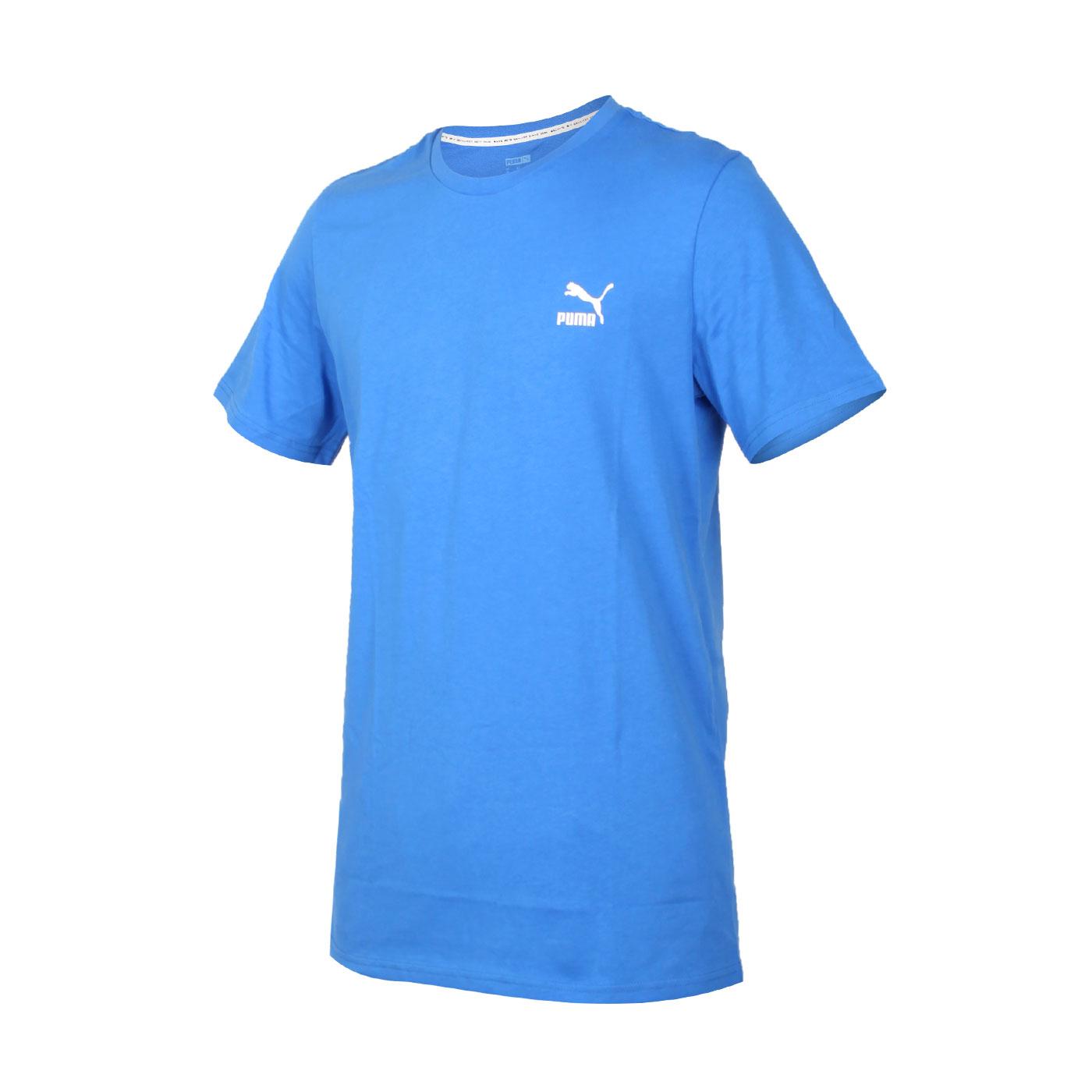 PUMA 男款流行系列短袖T恤 59862741 - 寶藍白紅