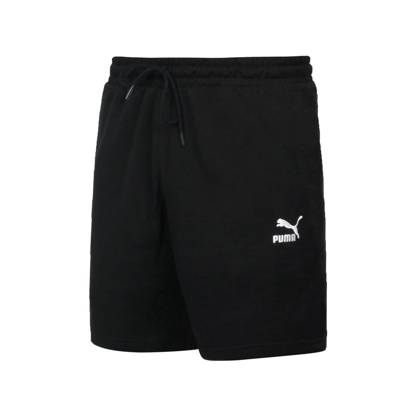 PUMA 男款8吋短褲 59981001 - 黑白