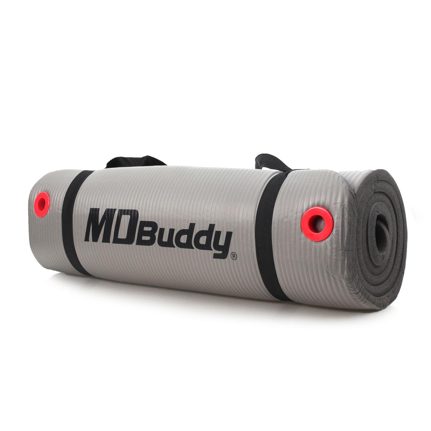 MDBuddy NBR紅色扣眼瑜珈墊 6012201 - 隨機