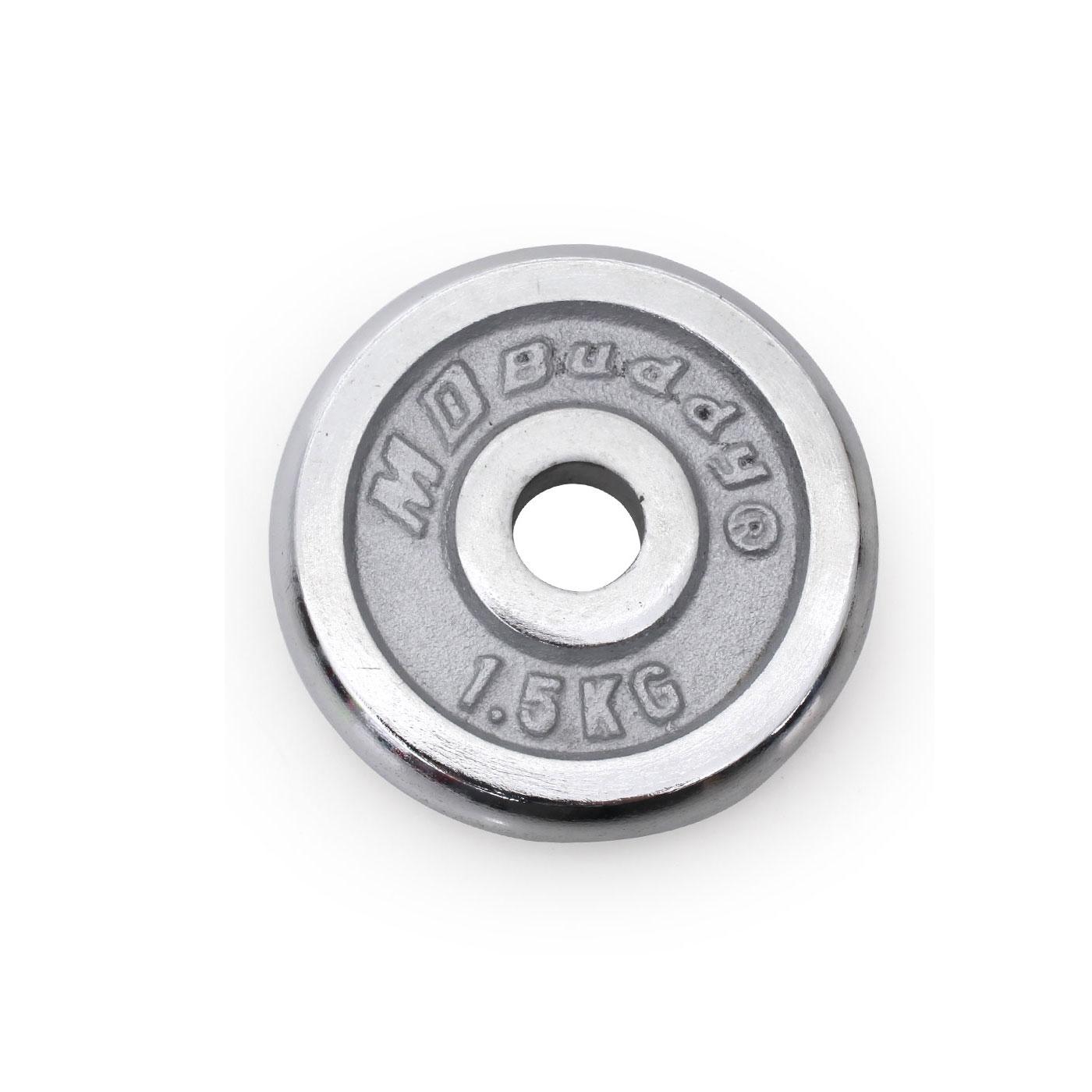 MDBuddy (1.5KG)電鍍槓片(單片) 6021801 - 銀