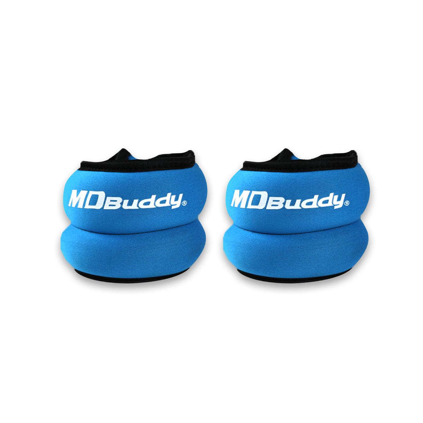 MDBuddy 腕帶式負重手套1KG(一雙) 6022501 - 隨機