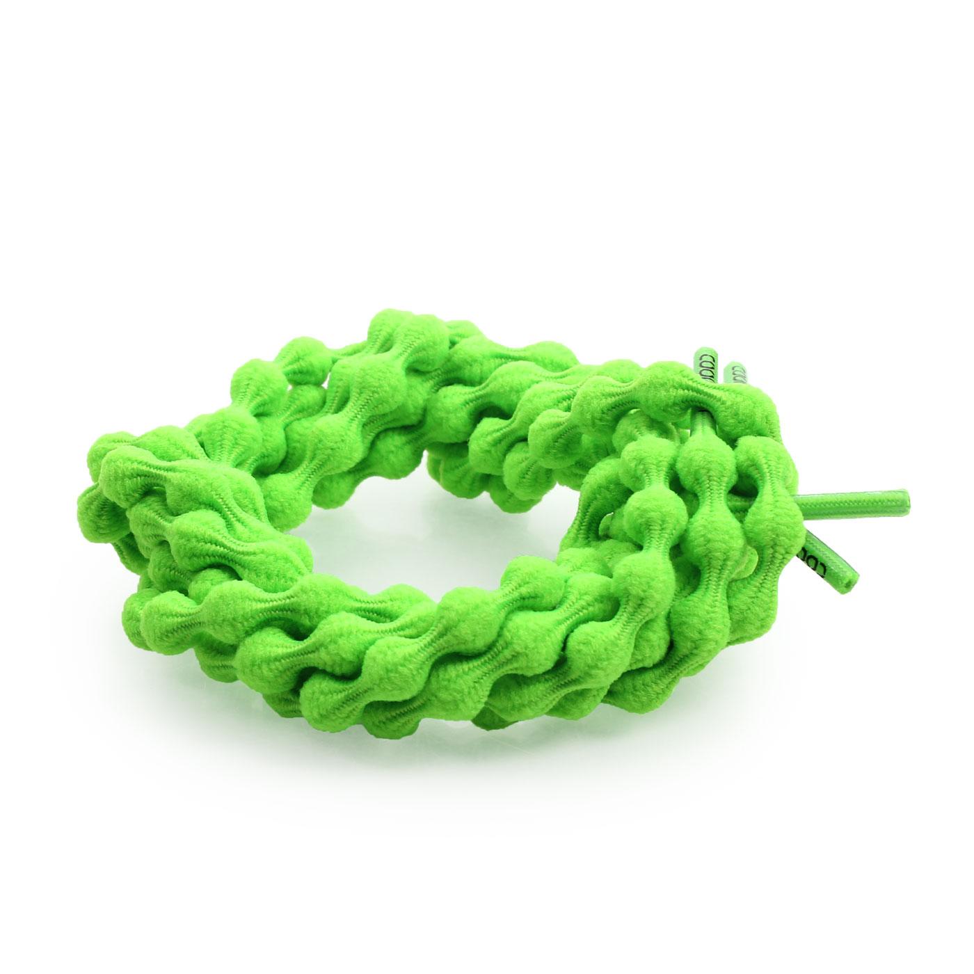COOLKNOT 豆豆鞋帶(選手款)85CM 6023901 - 螢光綠