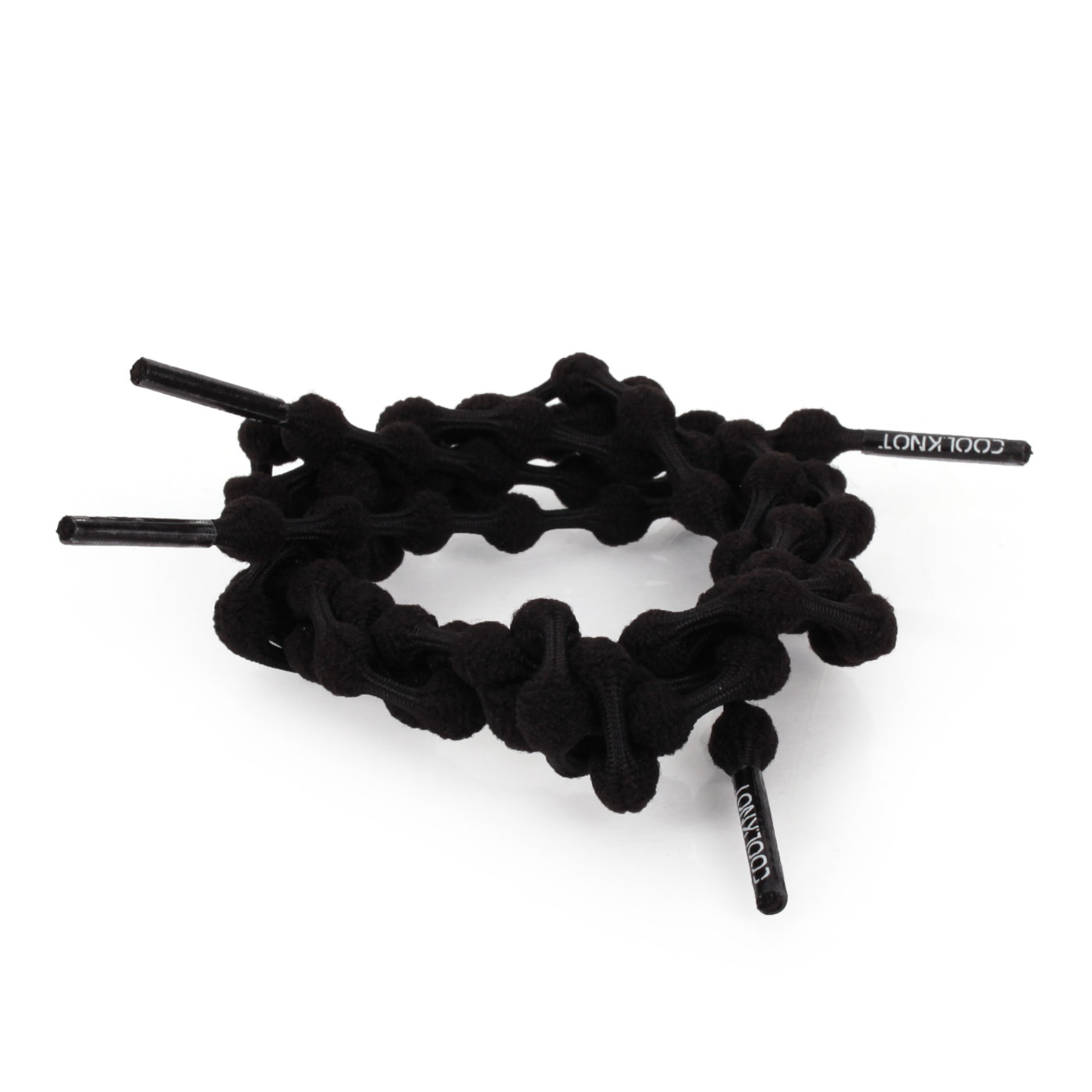 COOLKNOT 豆豆鞋帶(舒適款)60CM 6026201 - 黑