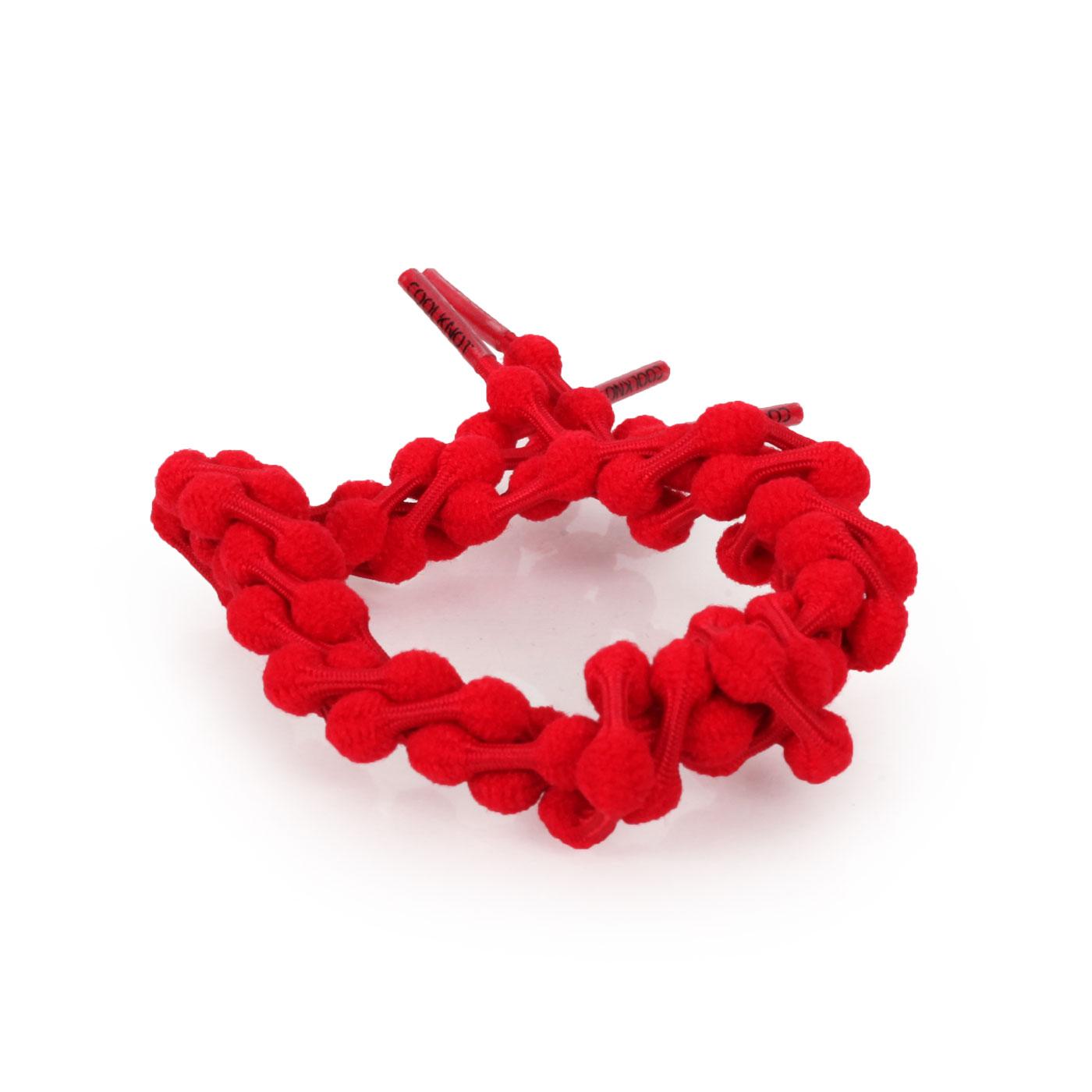 COOLKNOT 豆豆鞋帶(舒適款)60CM 6026201 - 紅