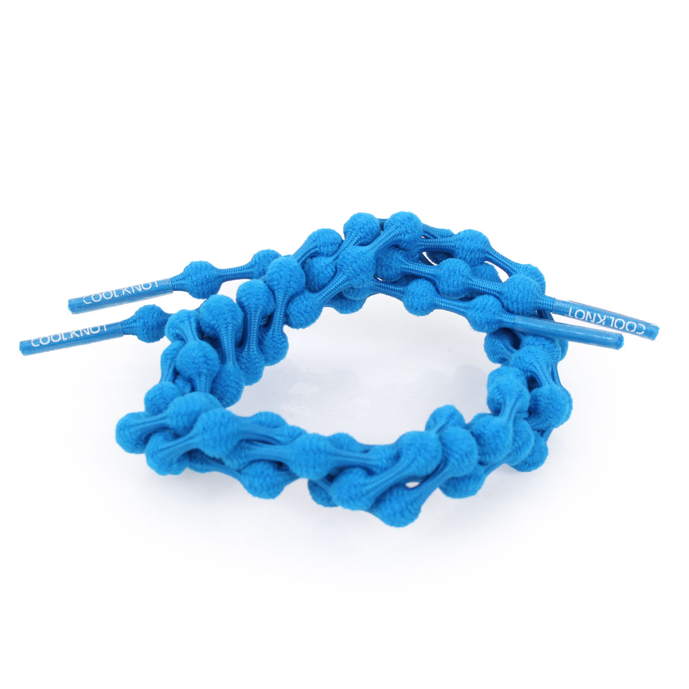 COOLKNOT 豆豆鞋帶(舒適款)60CM 6026201 - 藍