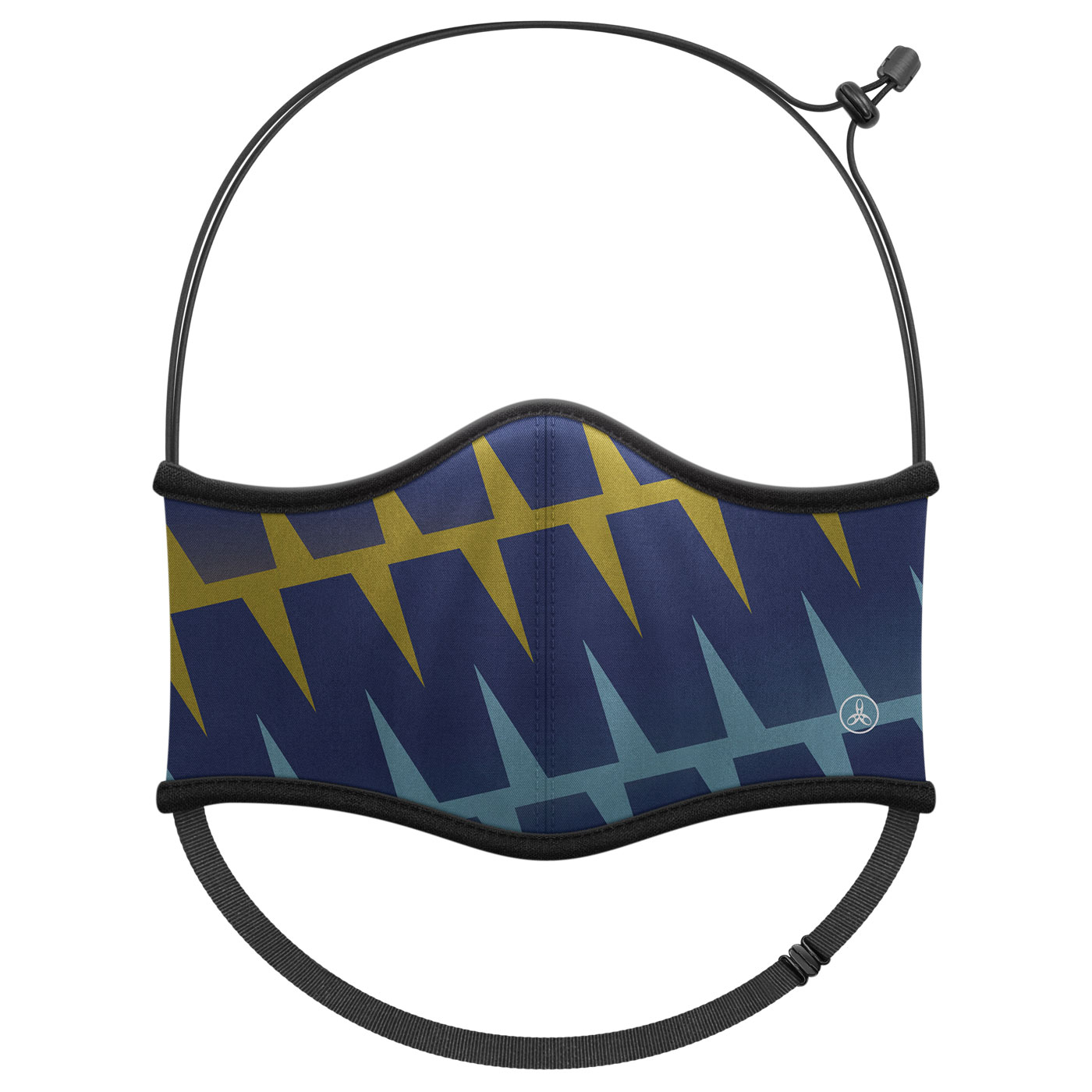HODARLA 運動舒適口罩6032201 - 丈青黃藍