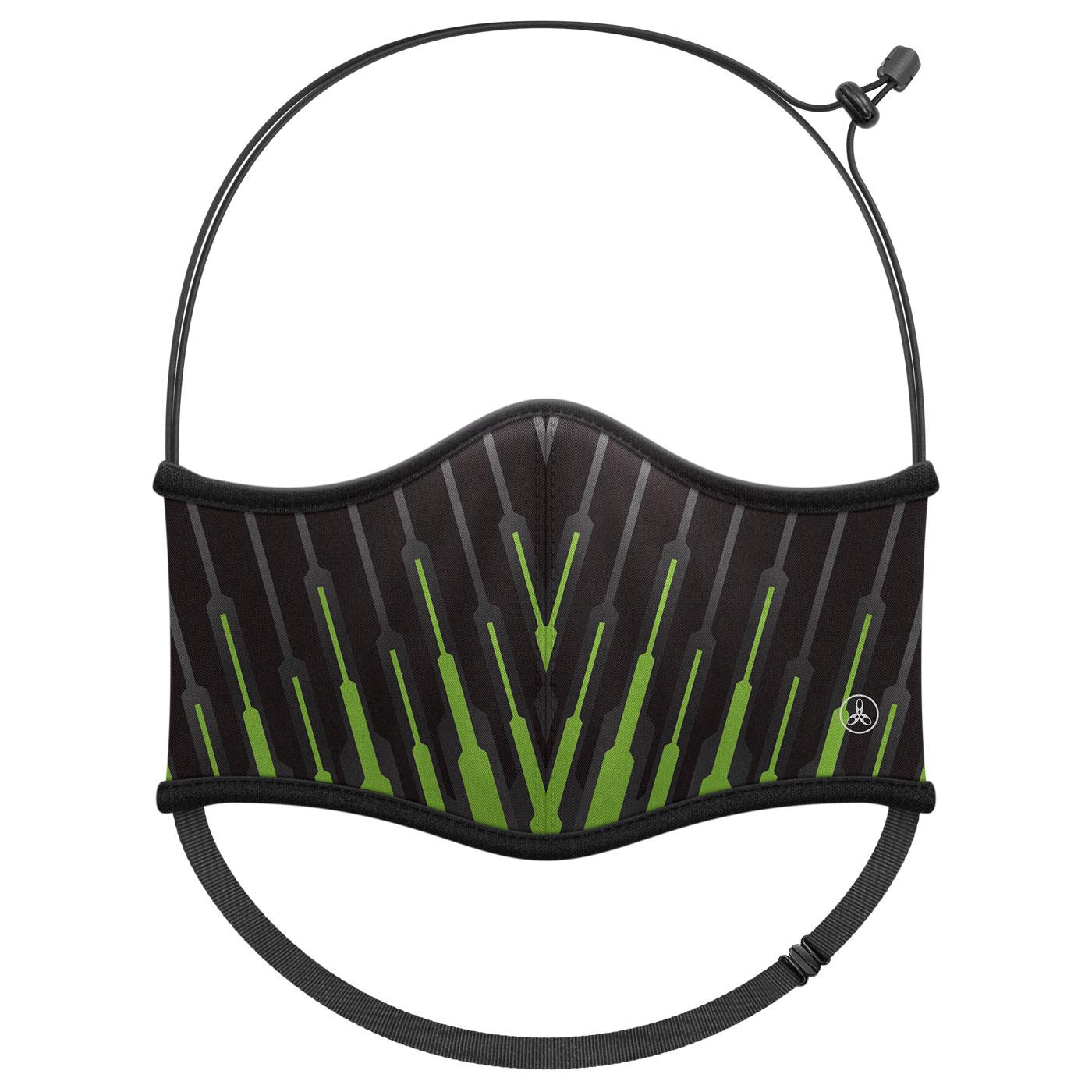 HODARLA 運動舒適口罩6032207 - 綠黑
