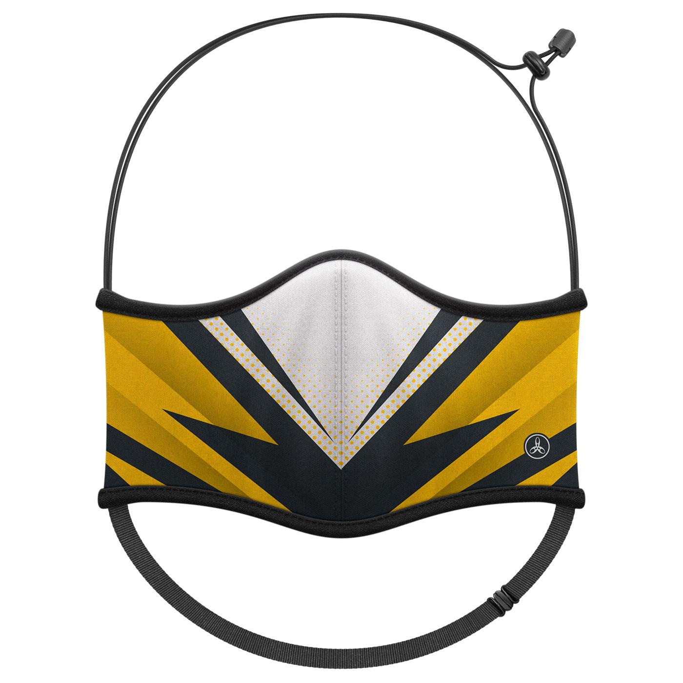 HODARLA 運動舒適口罩6032213 - 黃黑白