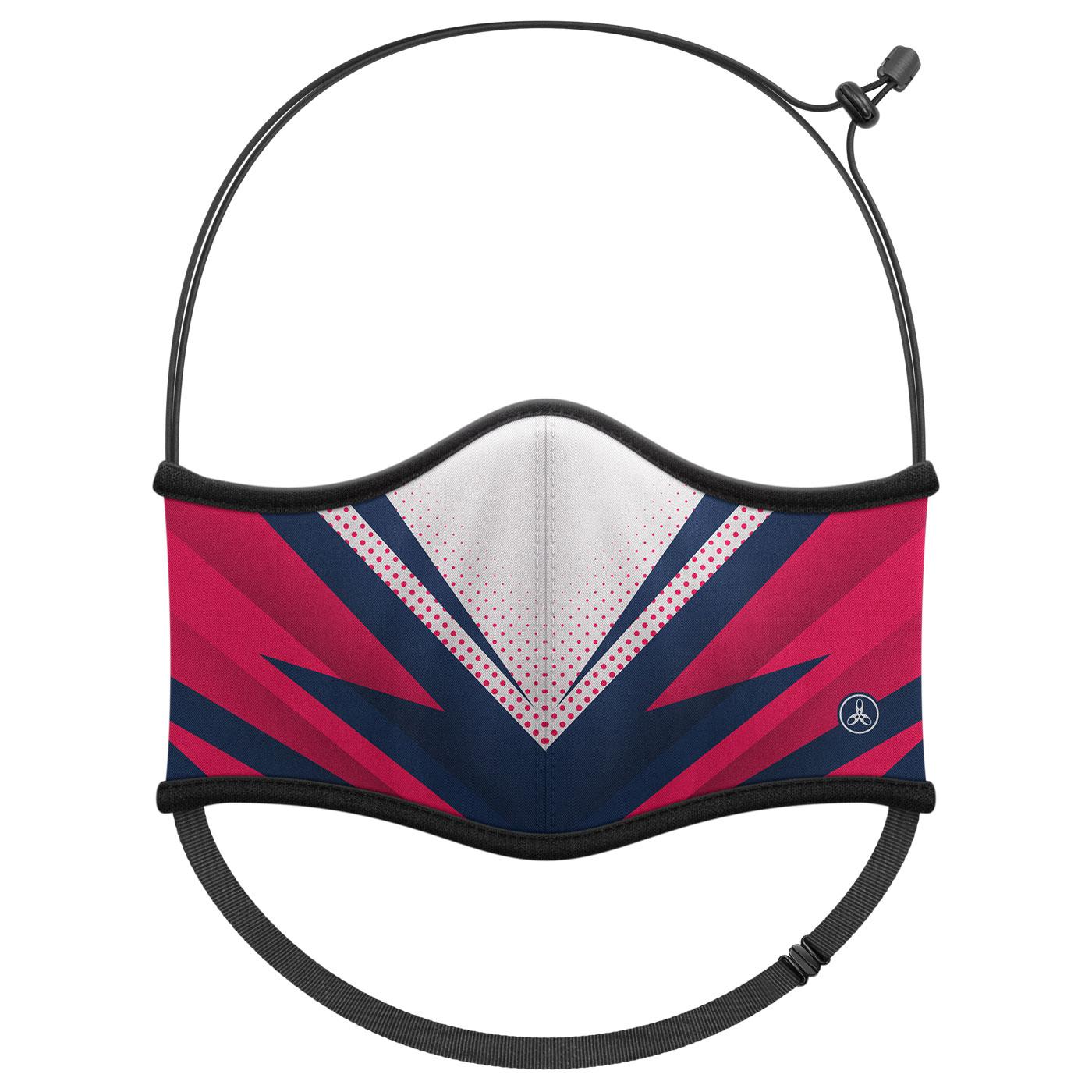 HODARLA 運動舒適口罩6032213 - 深藍紅白