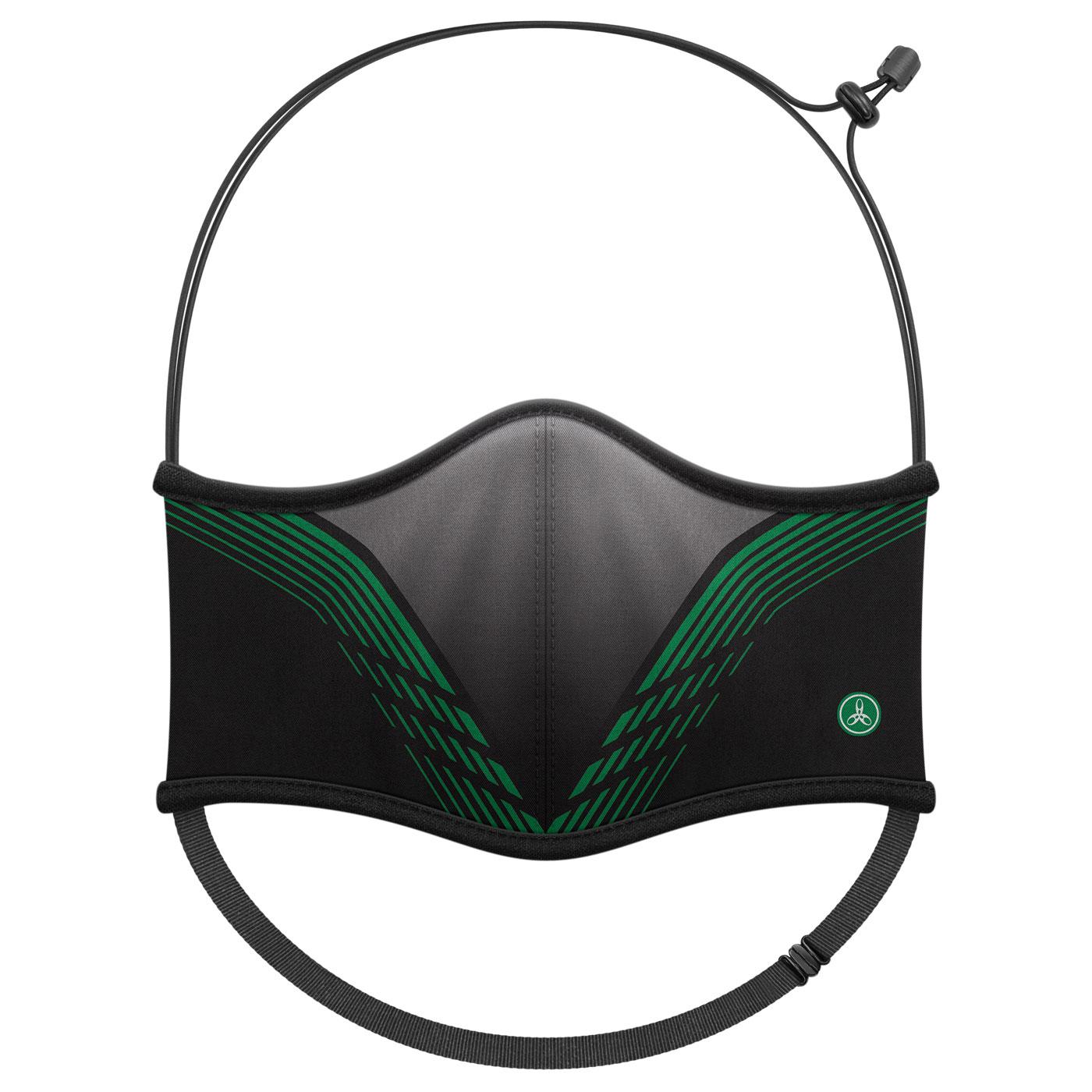 HODARLA 運動舒適口罩6032213 - 黑綠灰