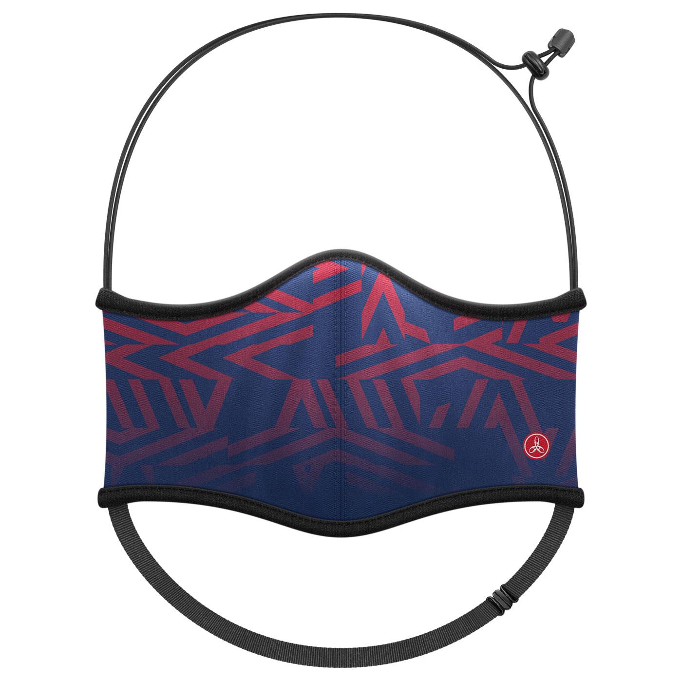 HODARLA 運動舒適口罩6032219 - 深藍紅