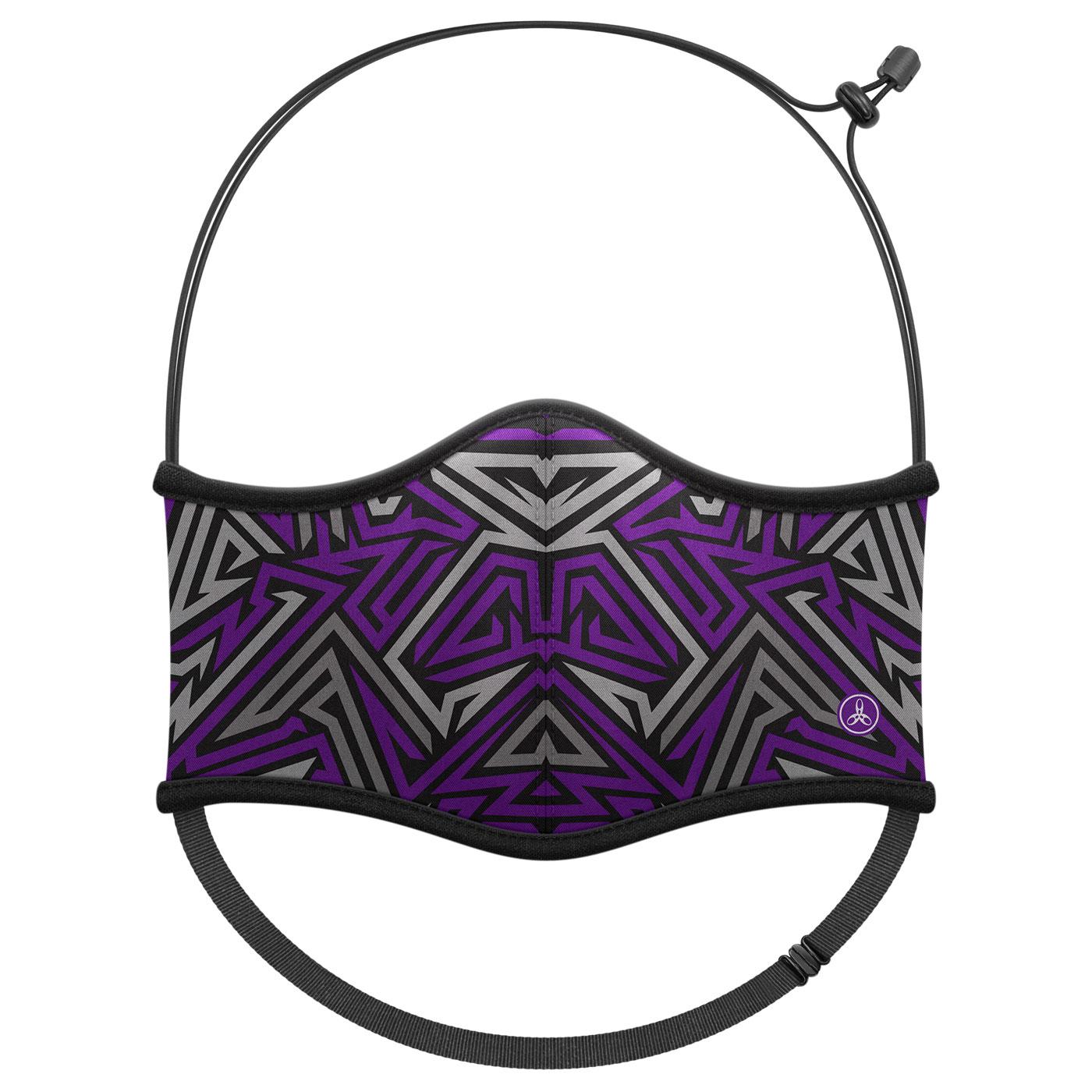 HODARLA 運動舒適口罩6032219 - 紫灰