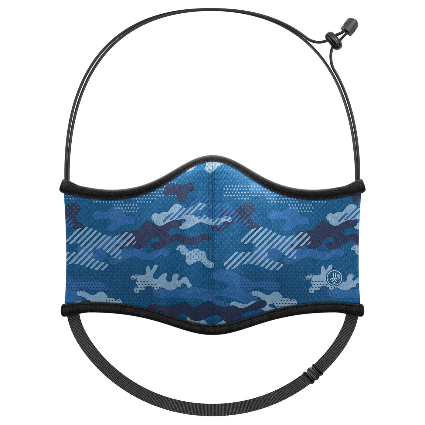 HODARLA 運動舒適口罩6032231 - 迷彩藍