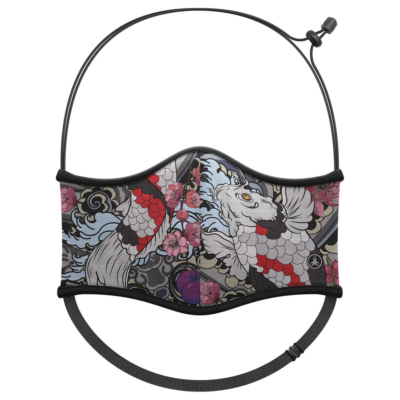 《預購》HODARLA 運動舒適口罩6032243 - 黑灰白紅藍
