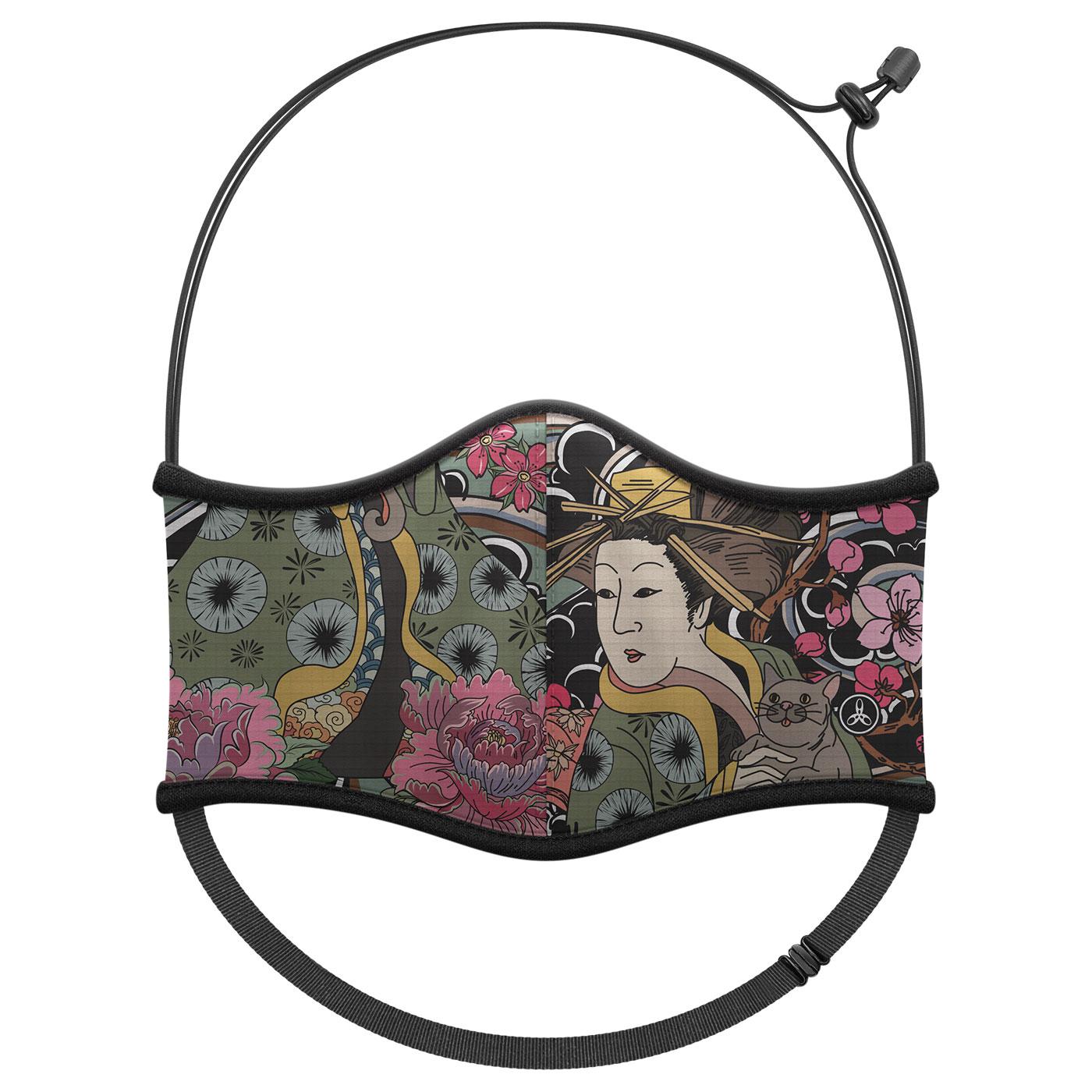 《預購》HODARLA 運動舒適口罩6032243 - 黑黃綠粉
