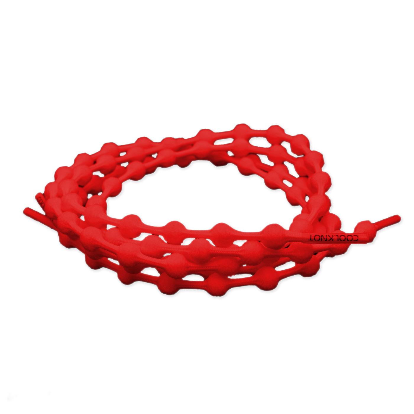 COOLKNOT 豆豆鞋帶(普通款)75CM 697007801 - 紅
