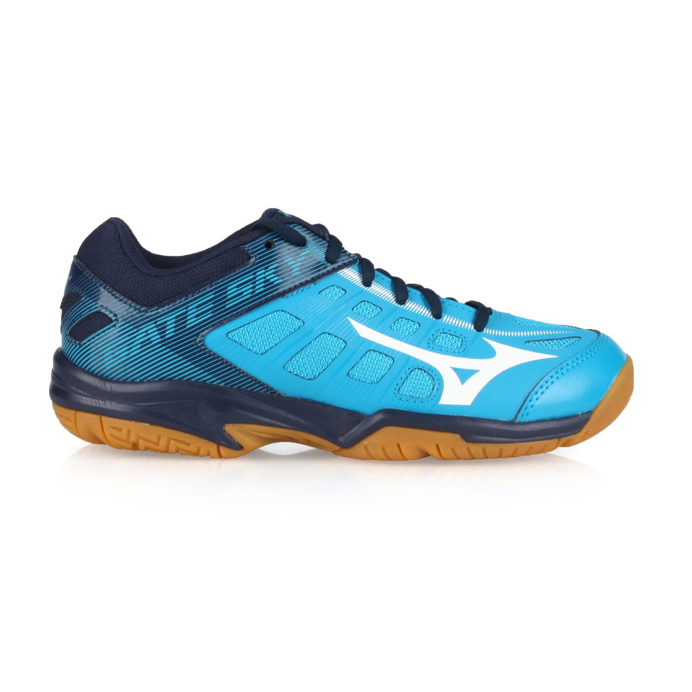 MIZUNO 羽球鞋  @GATE SKY 2@71GA194001 - 水藍深藍白