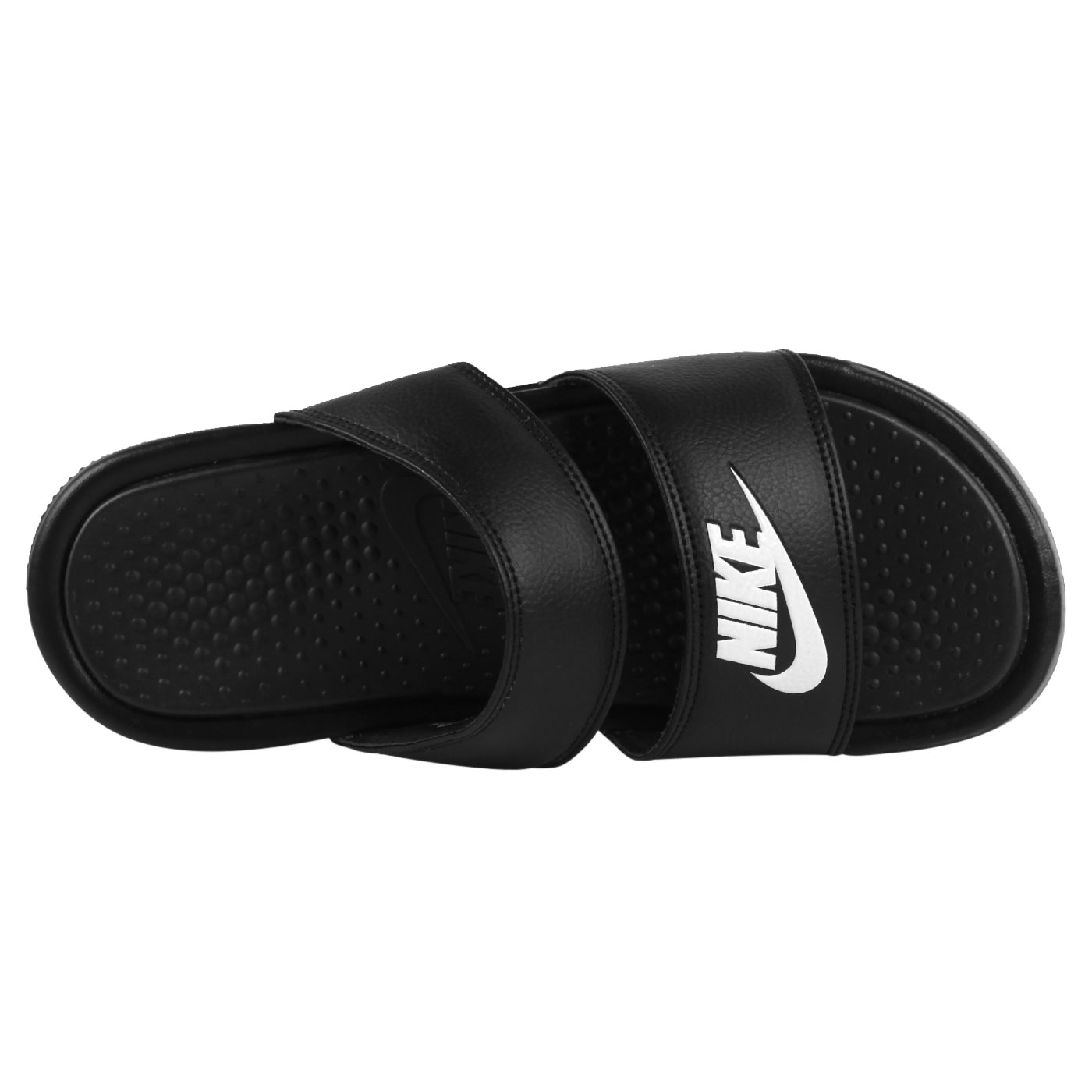 NIKE 女涼拖鞋  @WMNS BENASSI DUO ULTRA SLIDE@819717010 - 黑白