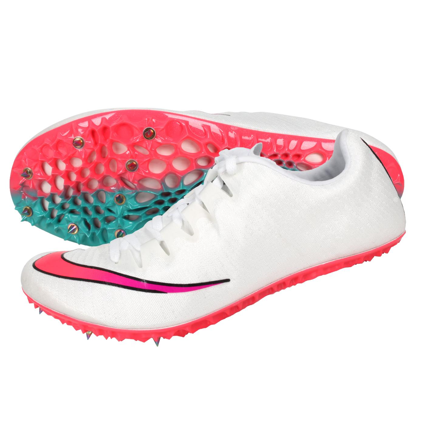 NIKE 田徑釘鞋(短距離)  @ZOOM SUPERFLY ELITE@835996100 - 白粉紫綠藍