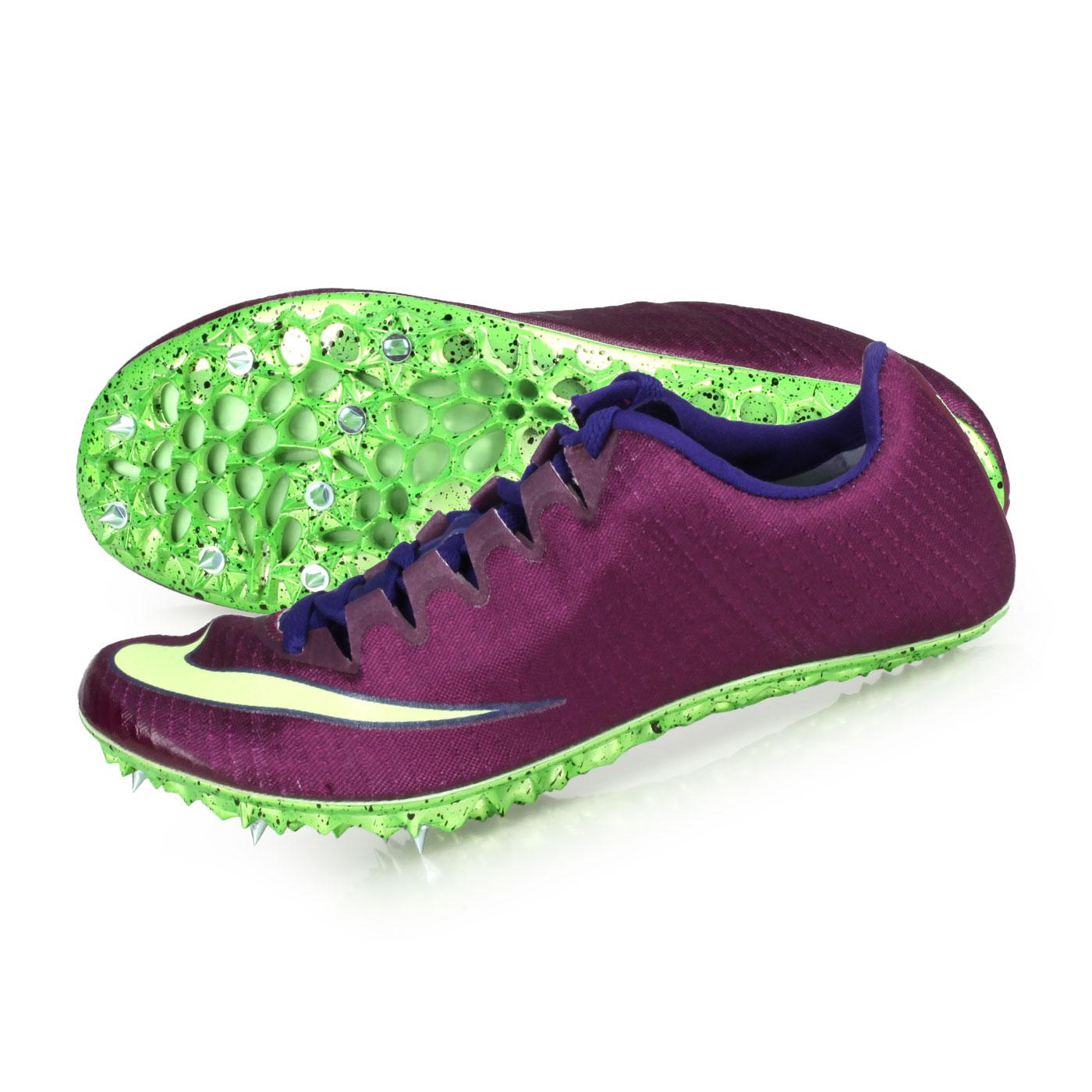 NIKE 田徑釘鞋(短距離)  @ZOOM SUPERFLY ELITE@835996001 - 深紫螢光綠