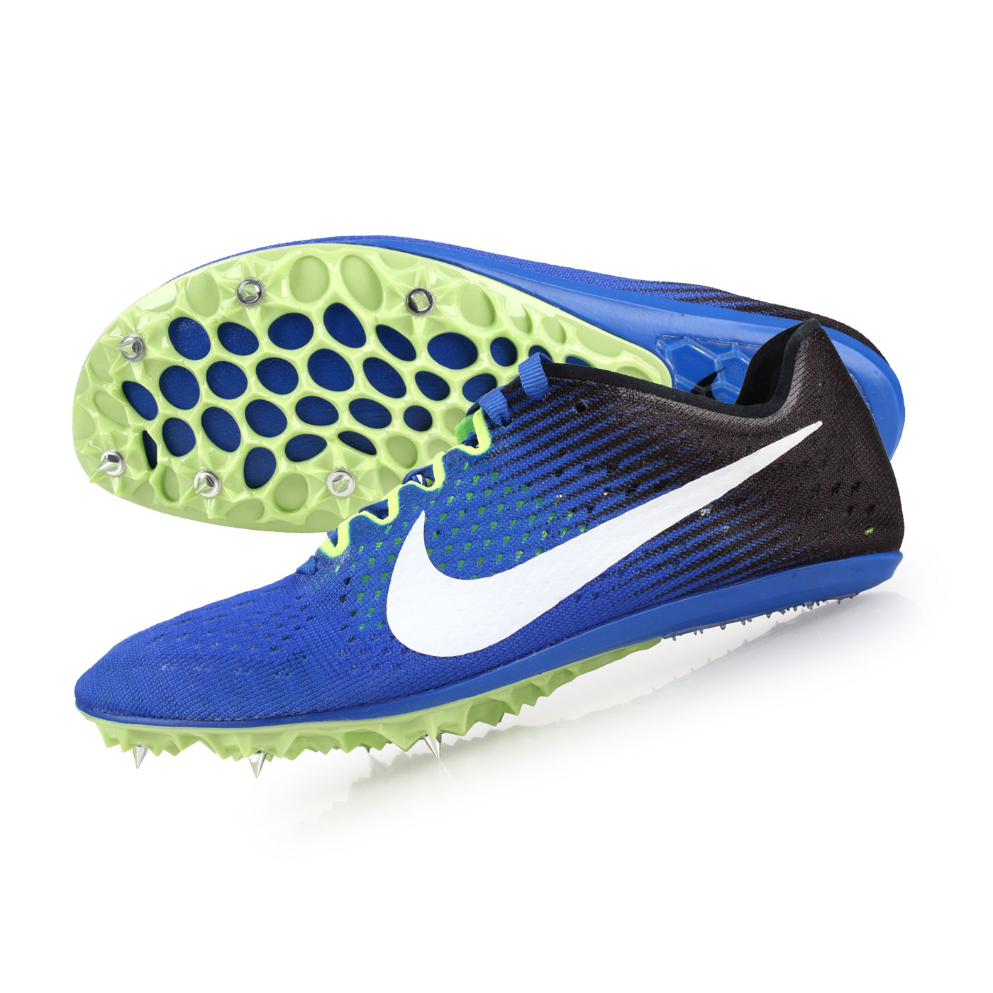 NIKE 田徑釘鞋(中長距離)  @ZOOM VICTORY 3@835997411 - 藍黑