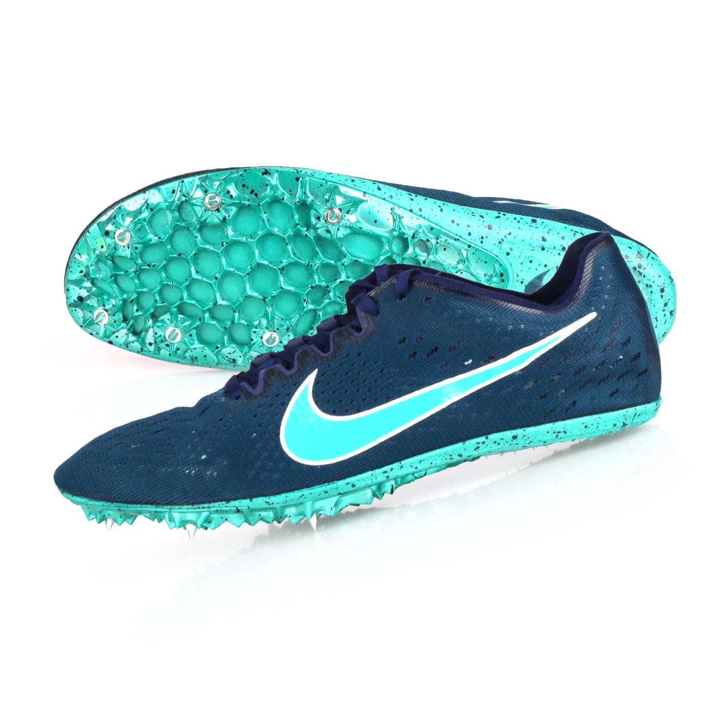 NIKE 田徑釘鞋(中長距離)  @ZOOM VICTORY ELITE 2@835998001 - 墨藍湖水綠