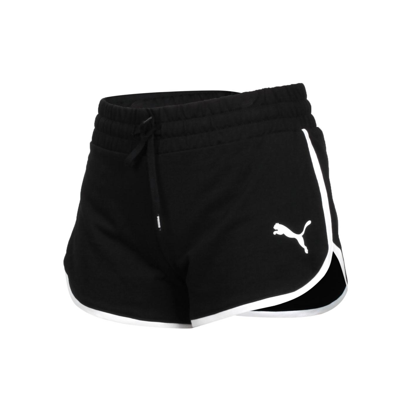 PUMA 女款基本系列Summer Stripes短褲 84582401 - 黑白