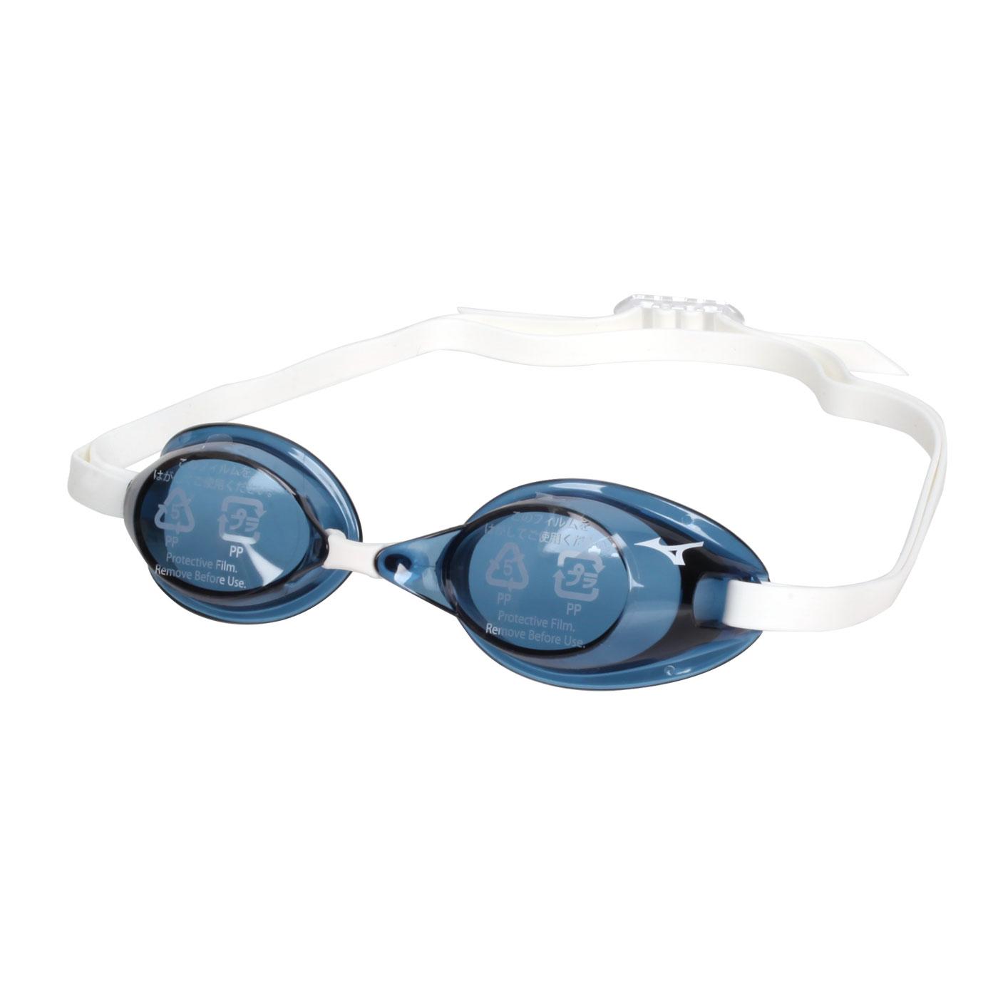 MIZUNO 泳鏡  SWIM85YA-75000-12 - 藍黑白