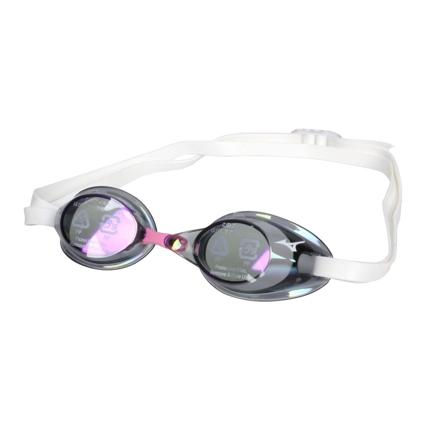 MIZUNO 泳鏡  SWIM85YA-75100-07 - 紫粉白